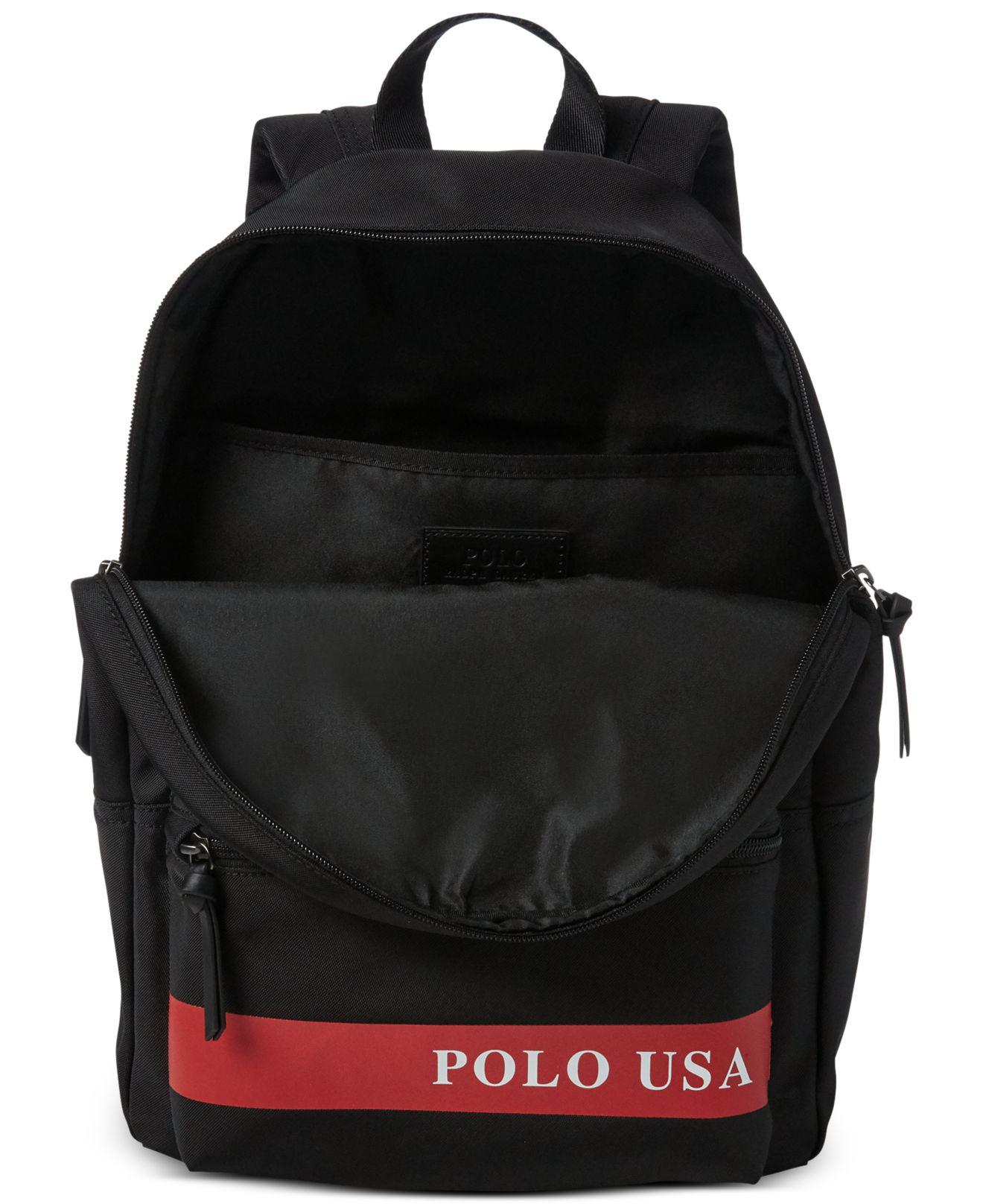 Lyst - Polo Ralph Lauren Water-repellent Downhill Skier Backpack in Black  for Men 2d7a8082a6a26