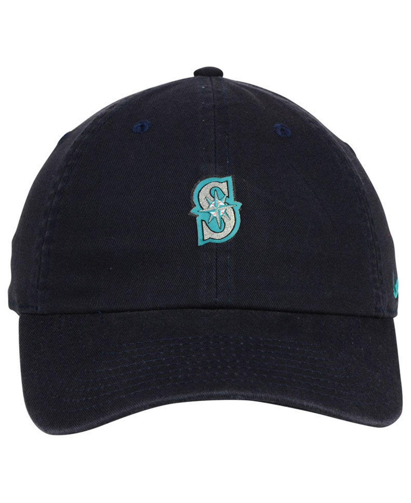 finest selection 1f7fc 7e985 Lyst - Nike Seattle Mariners Micro Cap in Blue for Men