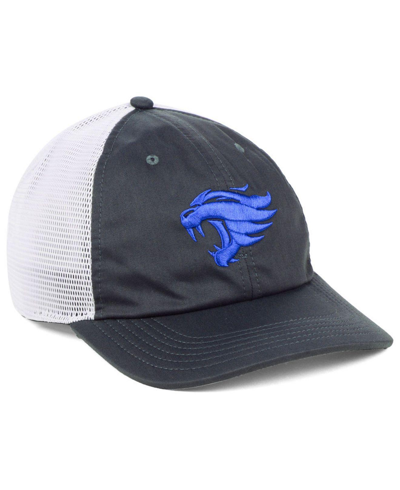 62be7a38 ... where to buy nike blue kentucky wildcats h86 trucker snapback cap for men  lyst. view
