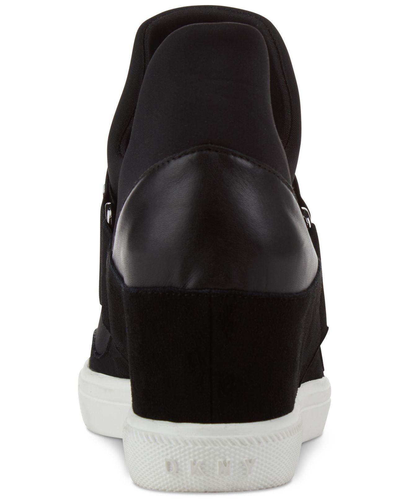 0b0b2b364631 DKNY - Black Cosmos Platform Sneakers