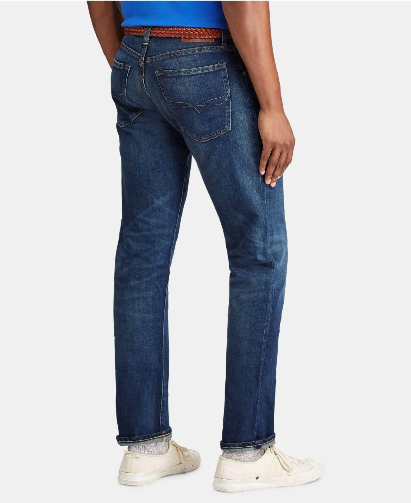 fd8bff630 Polo Ralph Lauren Hampton Relaxed Straight Jeans in Blue for Men - Lyst