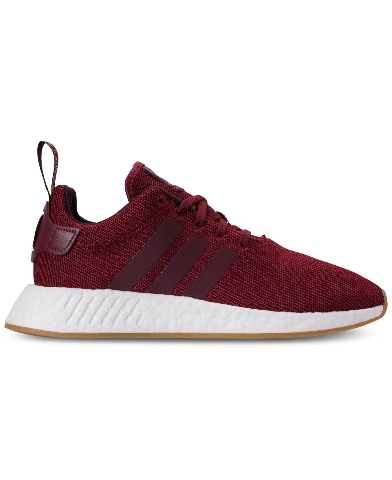 4df9b03c2f0eb0 Lyst - adidas Nmd R2 Casual Sneakers From Finish Line in Red for Men