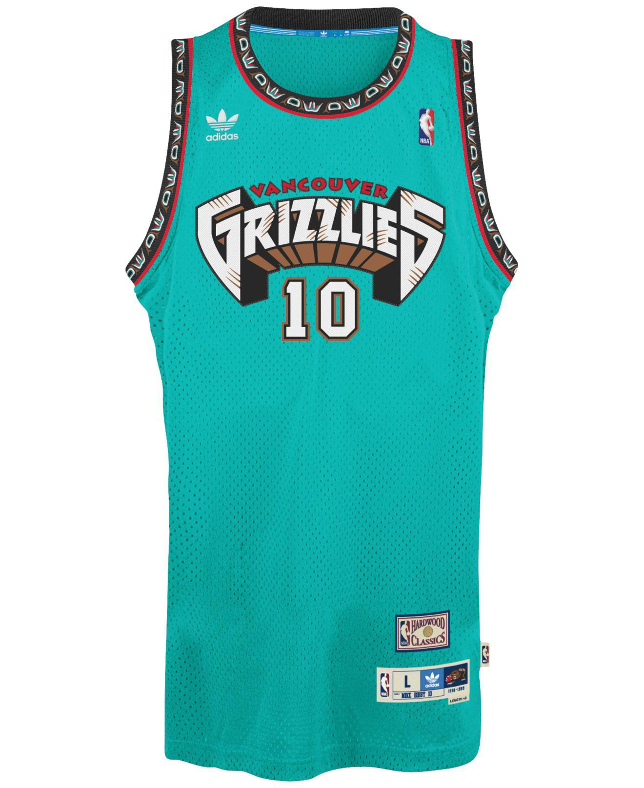 c5a3698e37f adidas Men s Mike Bibby Vancouver Grizzlies Swingman Jersey in Blue for Men  - Save 27% - Lyst