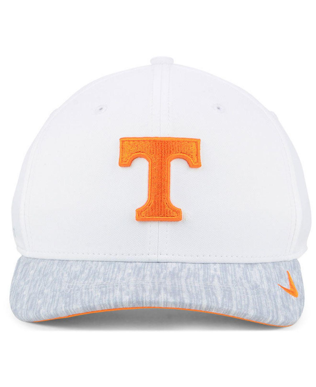 best loved 9a84a 7ecf8 Lyst - Nike Tennessee Volunteers Arobill Swoosh Flex Cap in White ...