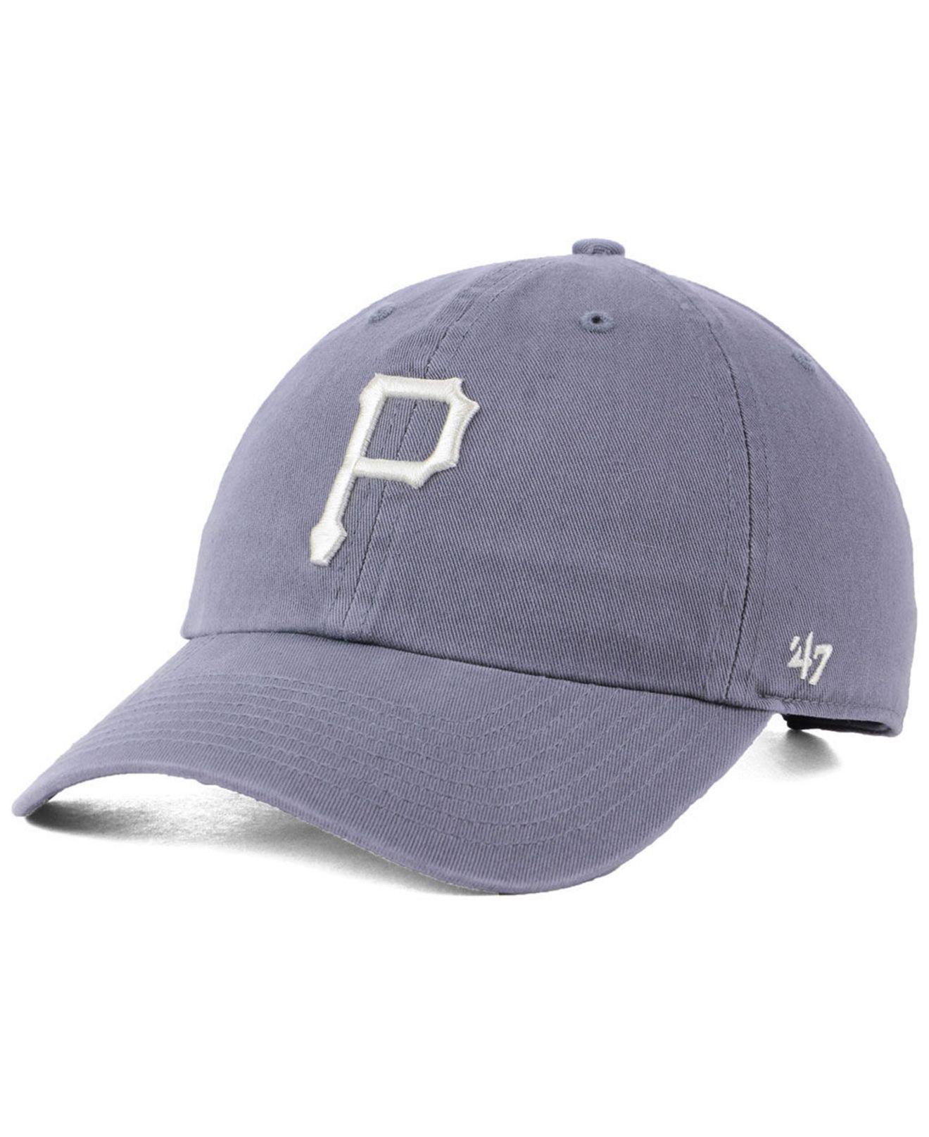 premium selection a6e72 52c6f ... sweden 47 brand. mens pittsburgh pirates dark gray clean up cap 161bf  f1310