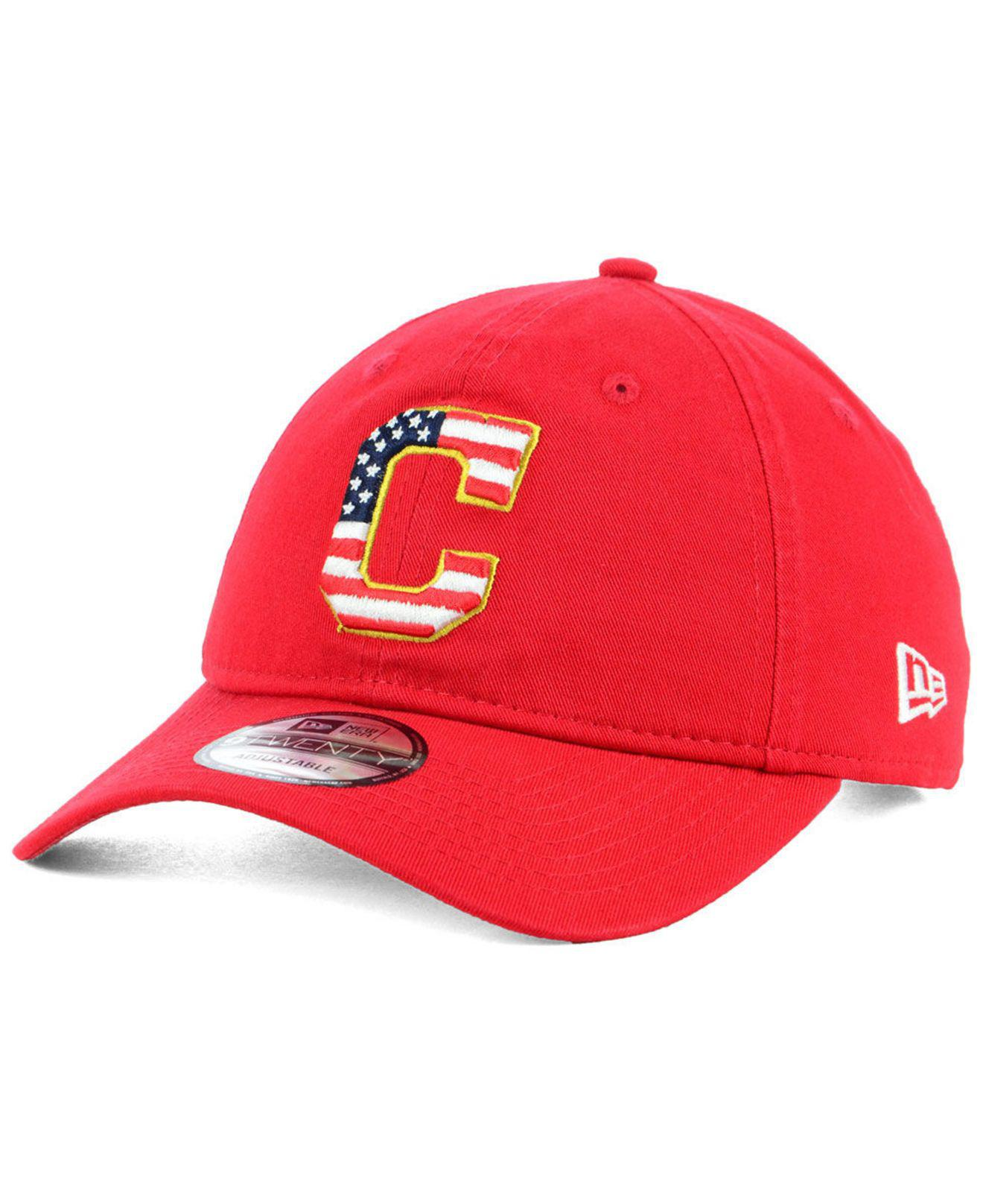low priced 2e336 0f36a germany ky233106 mlb washington nationals caps red 2da86 d6533  get ktz.  mens red cleveland indians stars and stripes 9twenty strapback cap f1a60  2e6bc