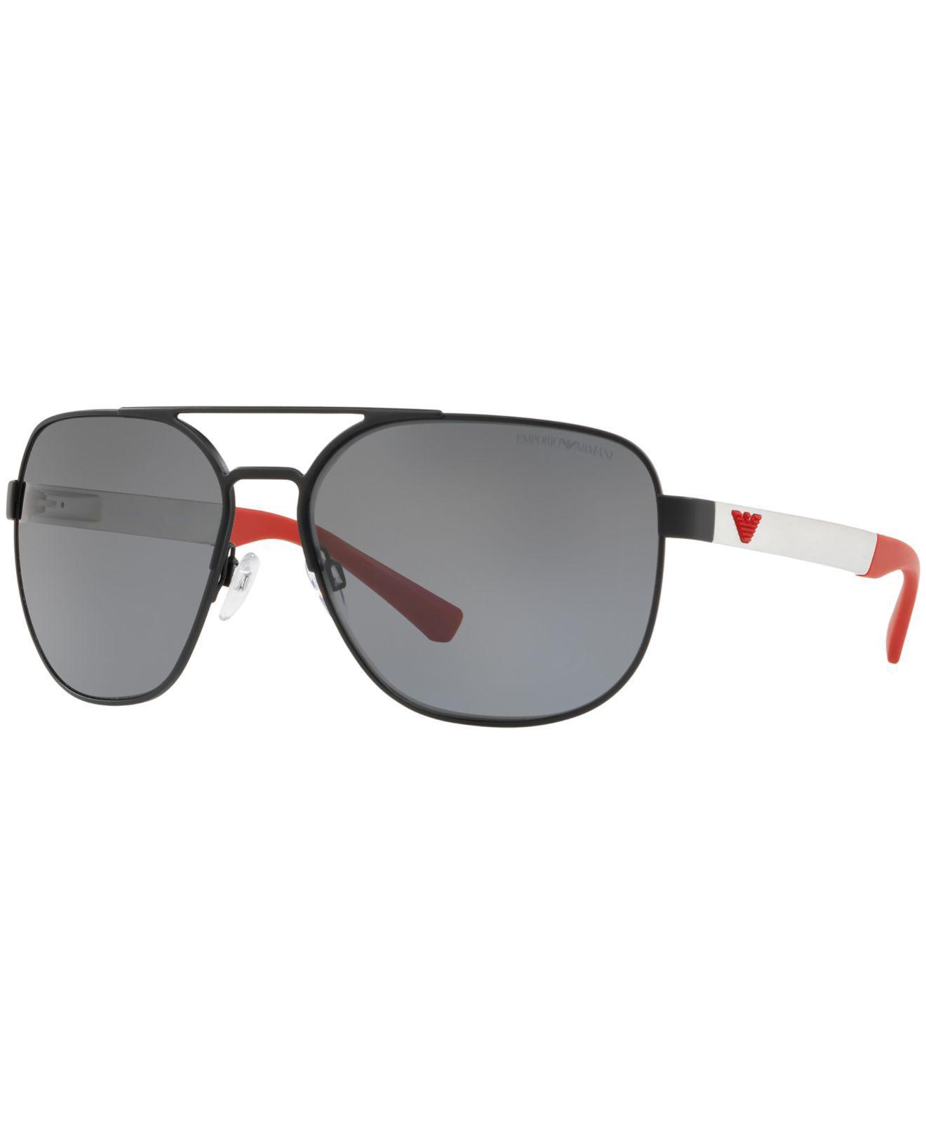 eb1d930d8aa Emporio Armani. Men s Polarized Sunglasses ...