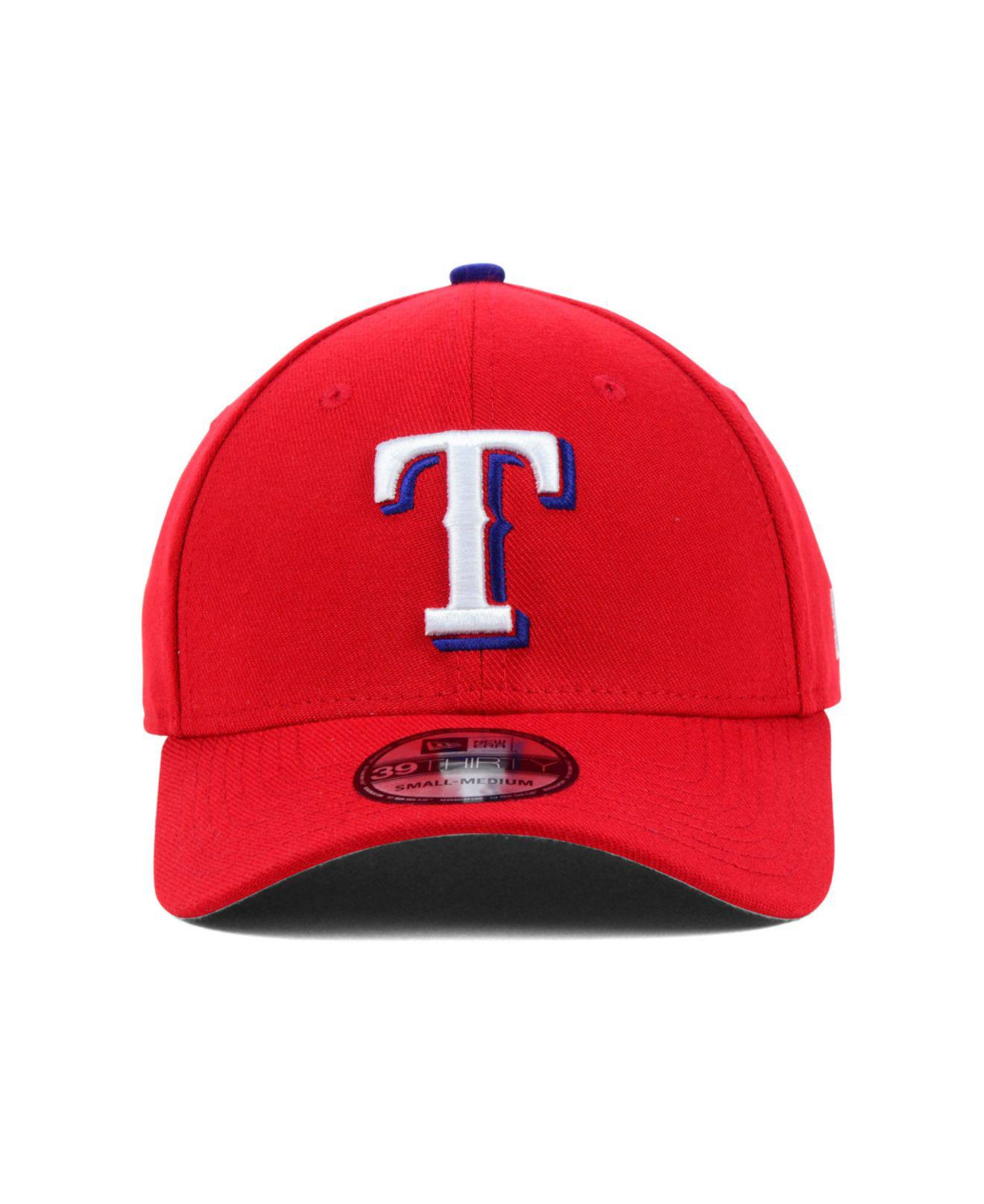 f29c3fa4 ... denmark lyst ktz texas rangers mlb team classic 39thirty cap in red for  men d89bd 8eec3