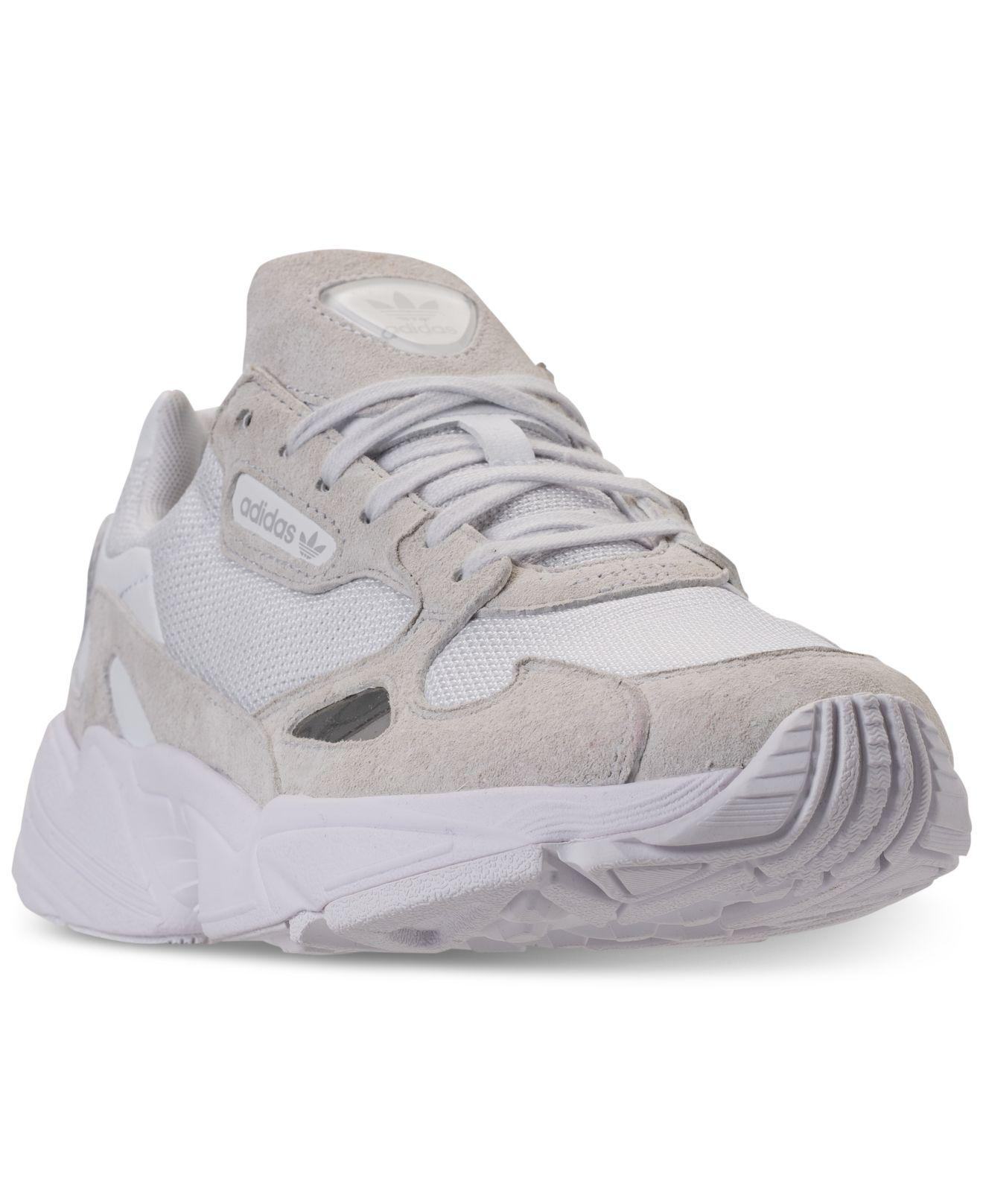 72dfc4f51c581 Adidas - White Falcon Athletic Sneakers From Finish Line - Lyst. View  fullscreen