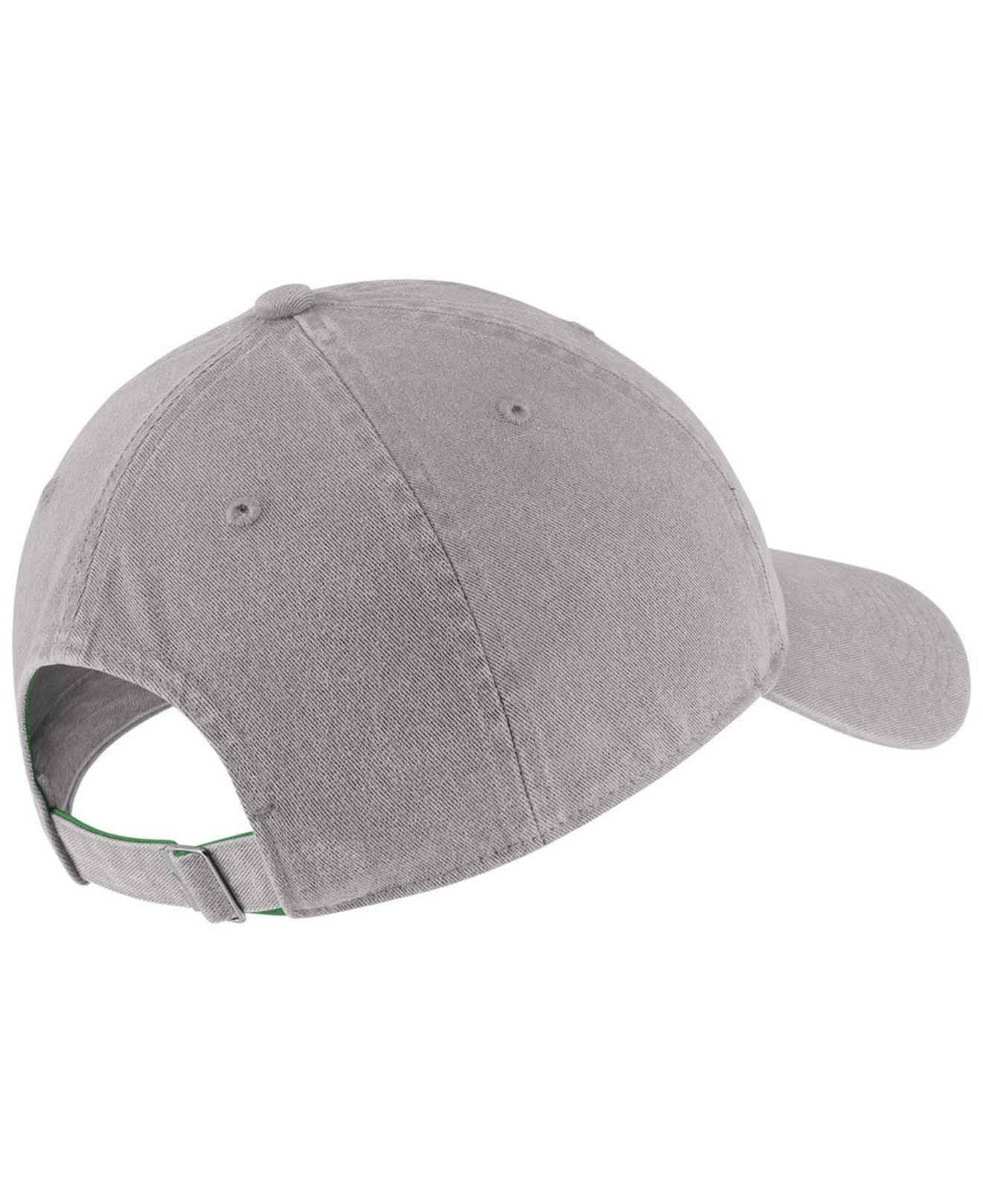 new product 3df51 efe7f Lyst - Nike Oregon Ducks H86 Washed Strapback Cap in Gray for Men