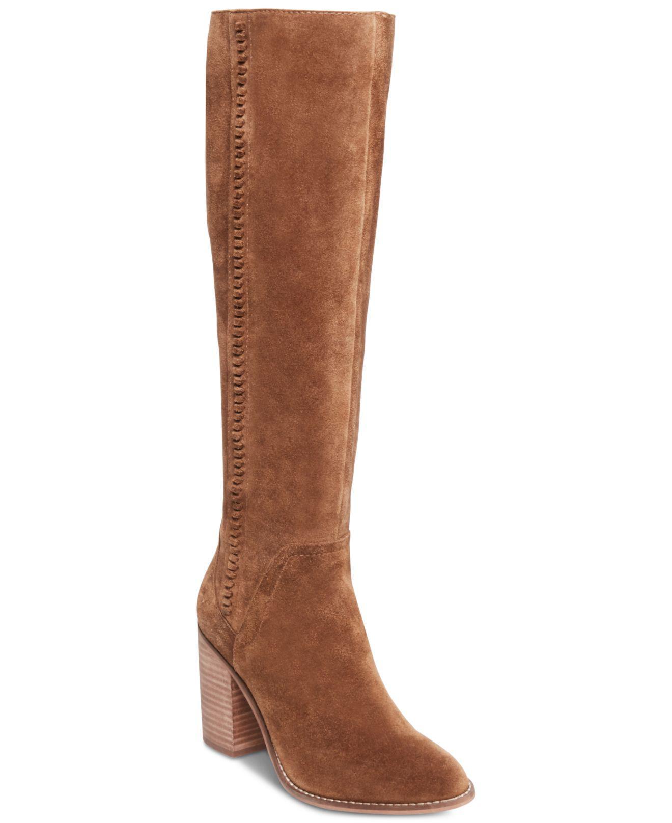 5ac96ae2967 Lyst - Steve Madden Roxana Knee High Boot in Brown - Save 7%