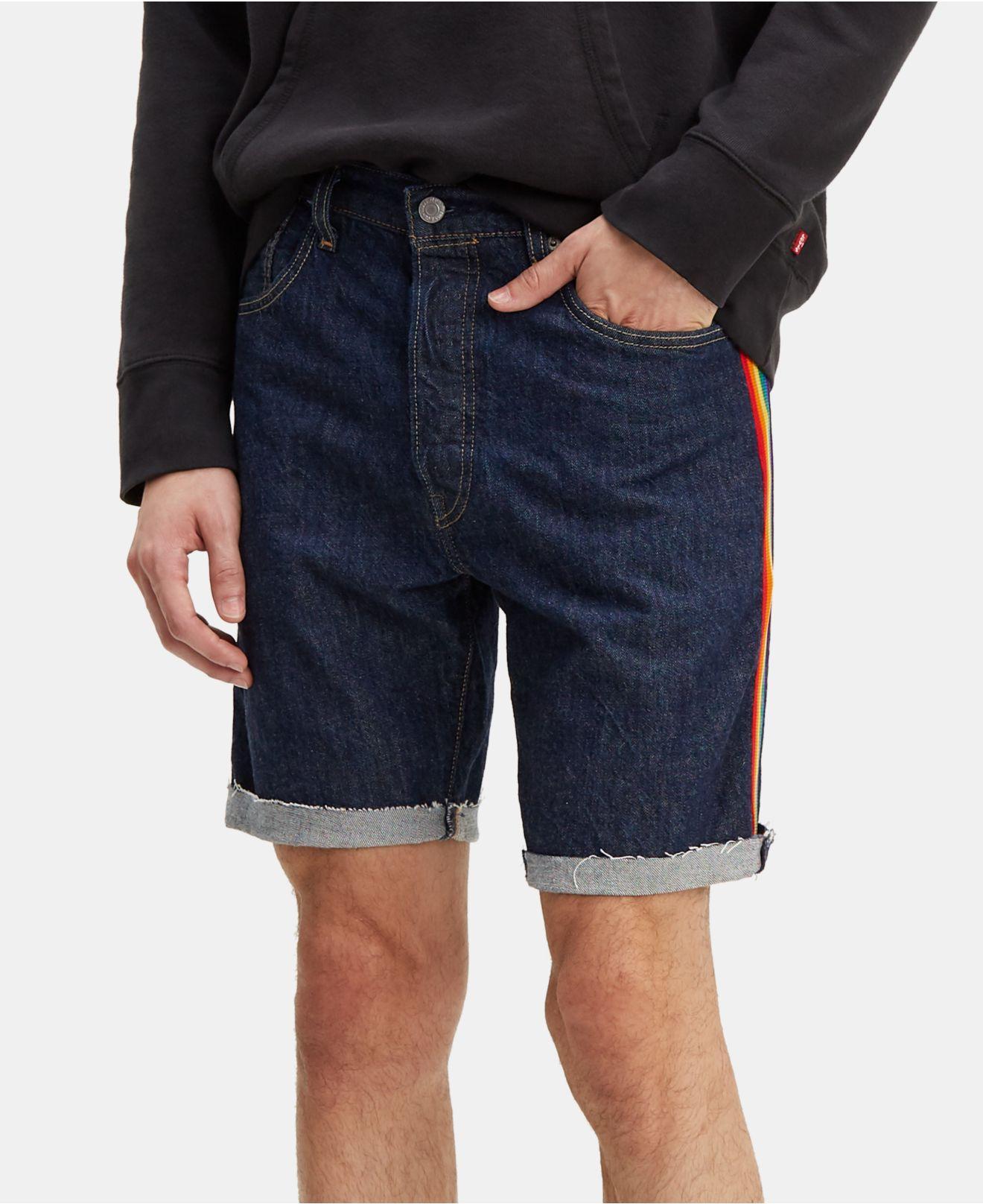 e67d7a00 Levi's - Blue ® Pride Collection 501 Denim Shorts for Men - Lyst. View  fullscreen