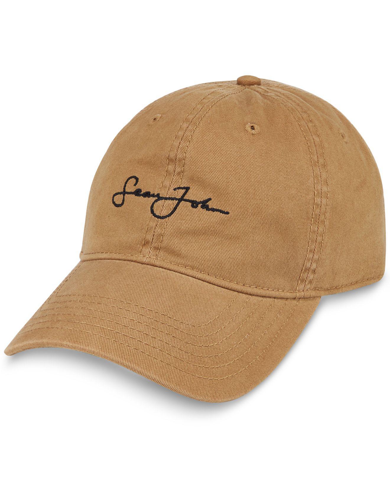 15239bd8a74 Lyst - Sean John Men s Textured Cap in Orange for Men
