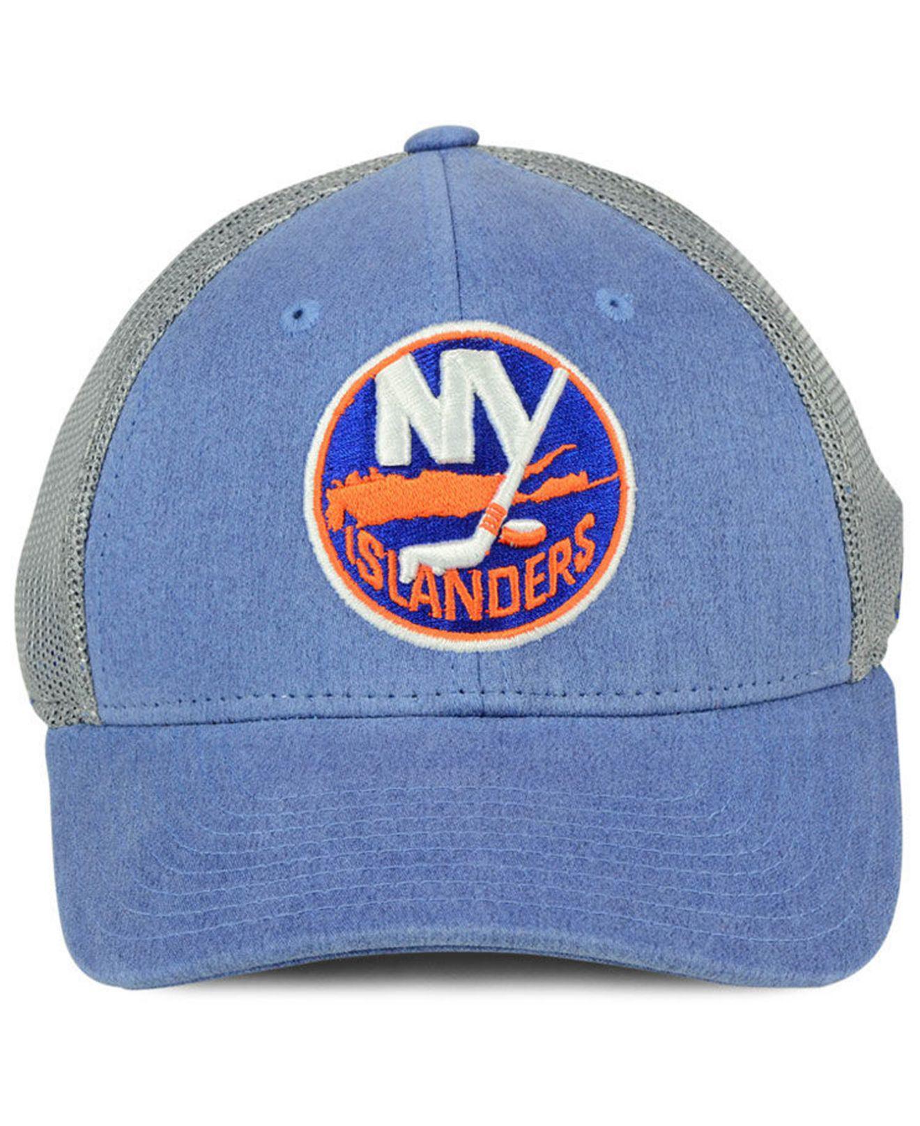 hot sales 99d60 61b66 ... promo code for lyst adidas new york islanders geno flex cap in blue for  men b037b