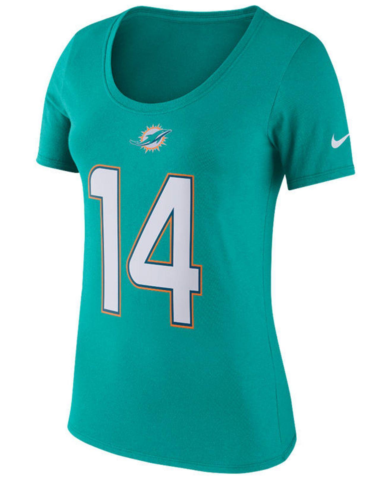29e07358 Nike - Blue Women's Player Pride T-shirt - Lyst
