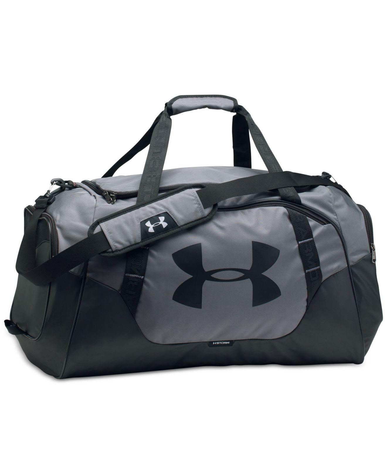3edde006485a Lyst - Under Armour Undeniable Storm Duffel Bag in Gray for Men