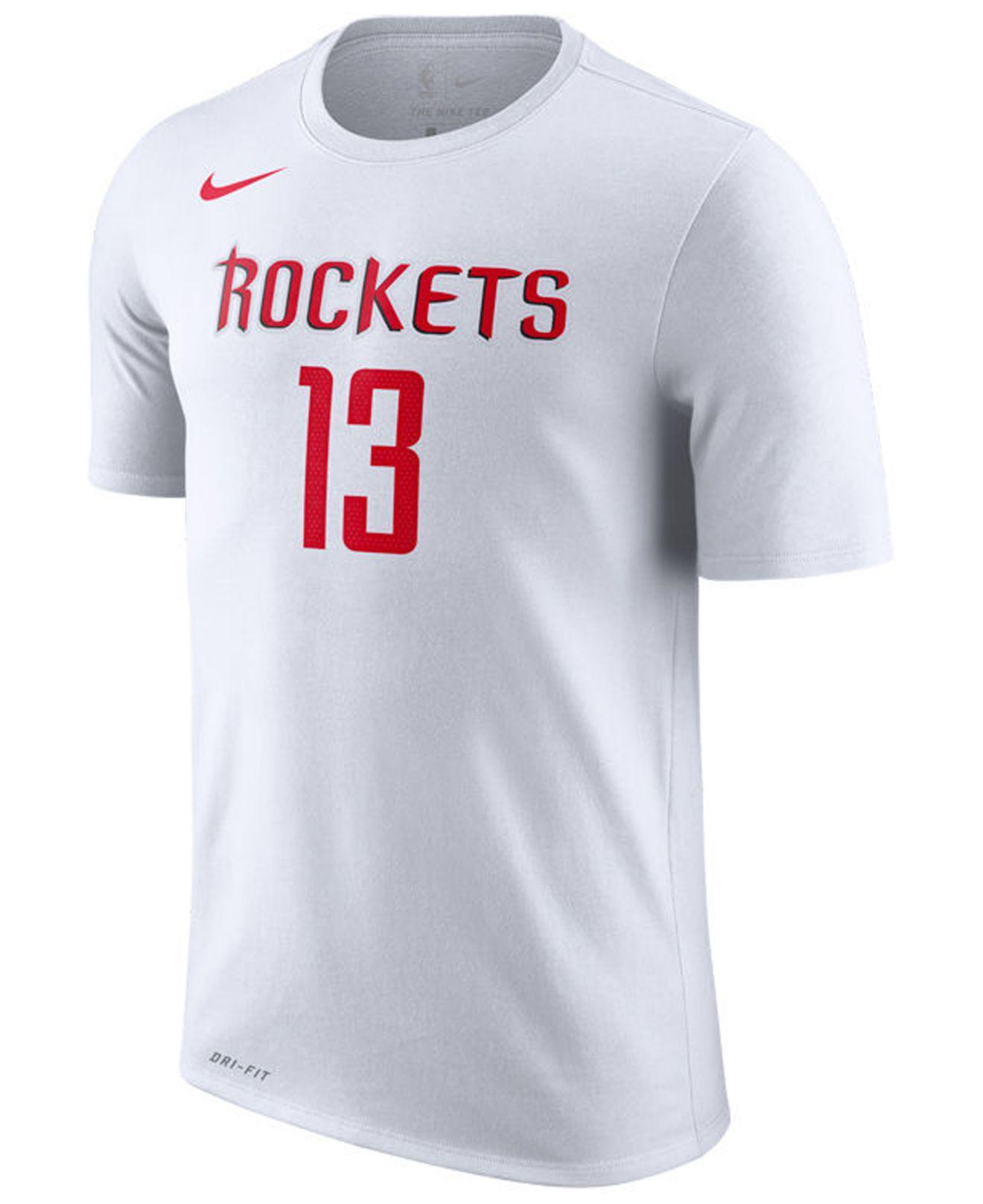 1c2aff14 Nike James Harden Houston Rockets Association Player T-shirt in White for  Men - Lyst