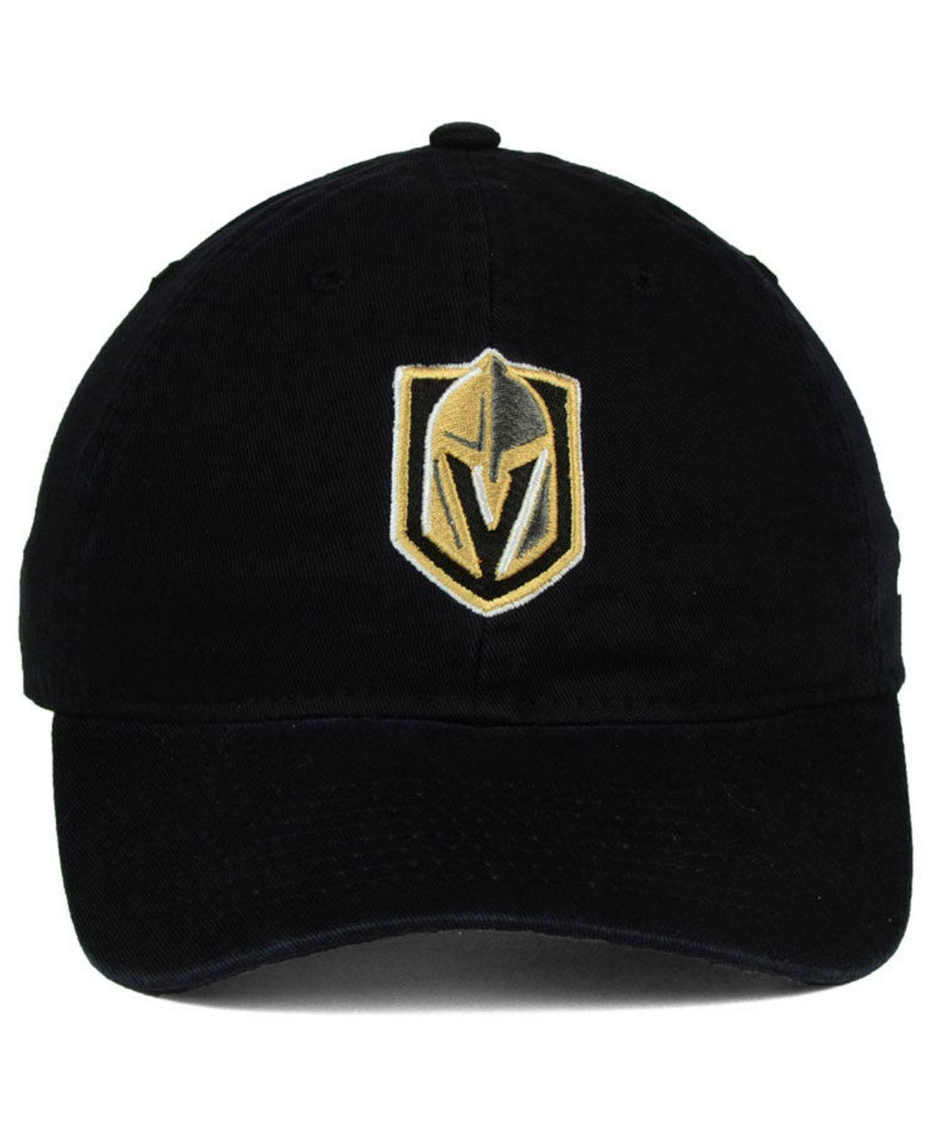 5a1eb3dff04075 ... reduced lyst adidas vegas golden knights slouch adjustable cap in black  for men 91f3c 5e17b