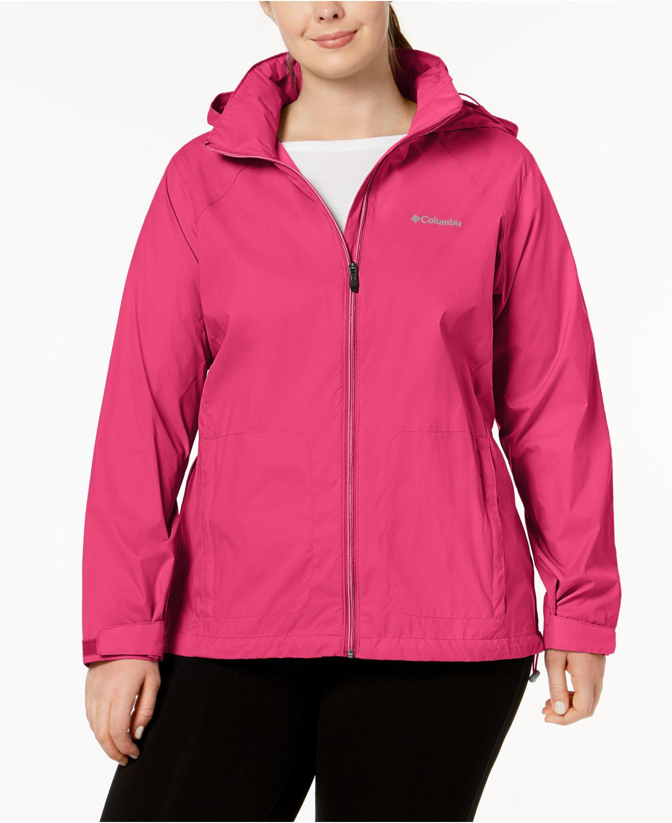 74e71ed1b6a Lyst - Columbia Plus Size Switchback Iii Jacket in Pink