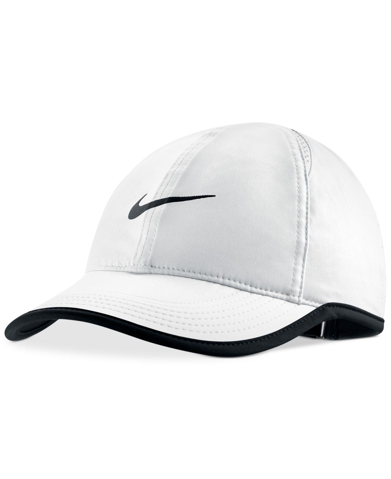Lyst - Nike Dri-fit Featherlight Cap in White 71d5f4ad045f
