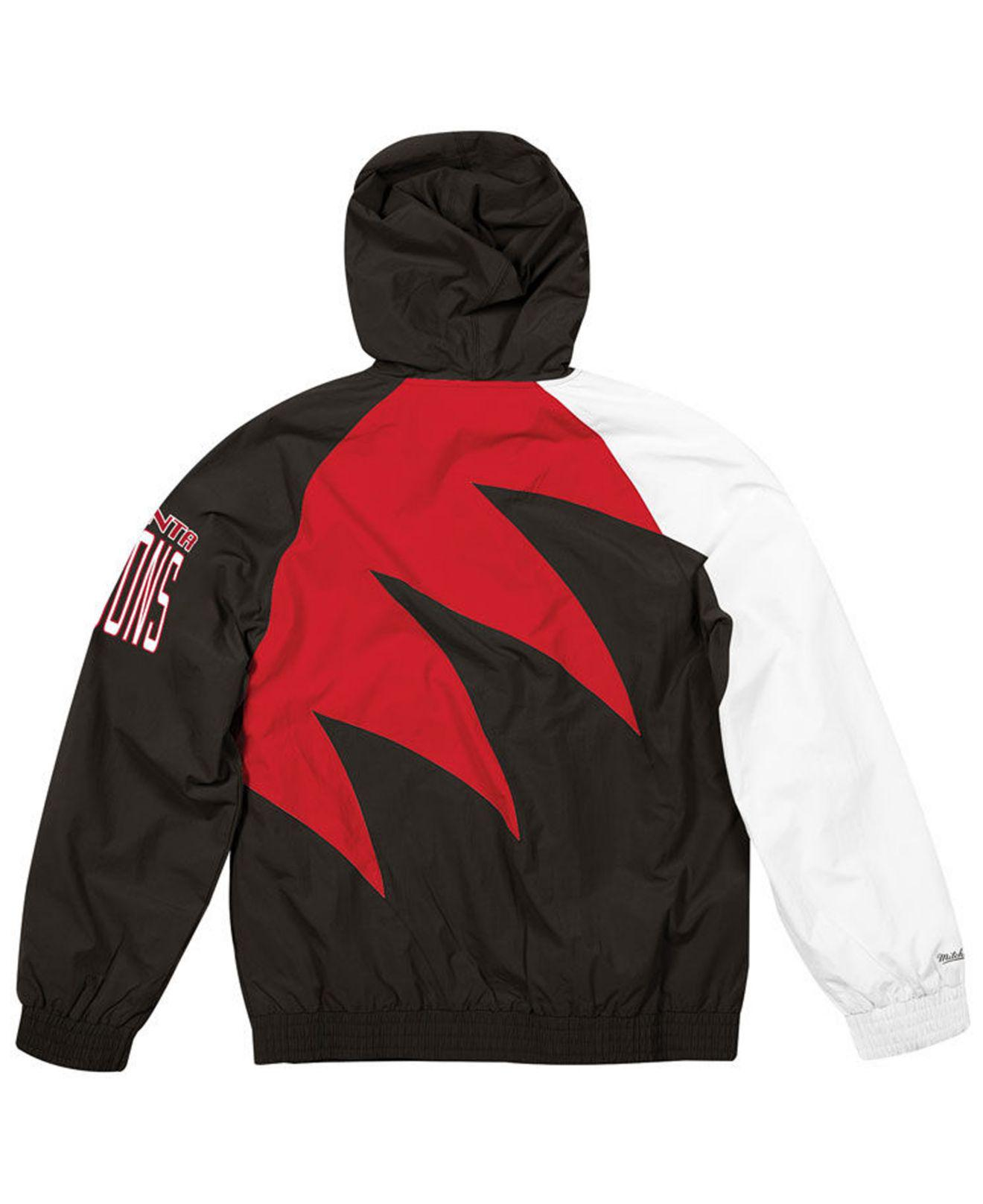 243ef06e6b8 Lyst - Mitchell & Ness Atlanta Falcons Shark Tooth Jacket in Red for Men