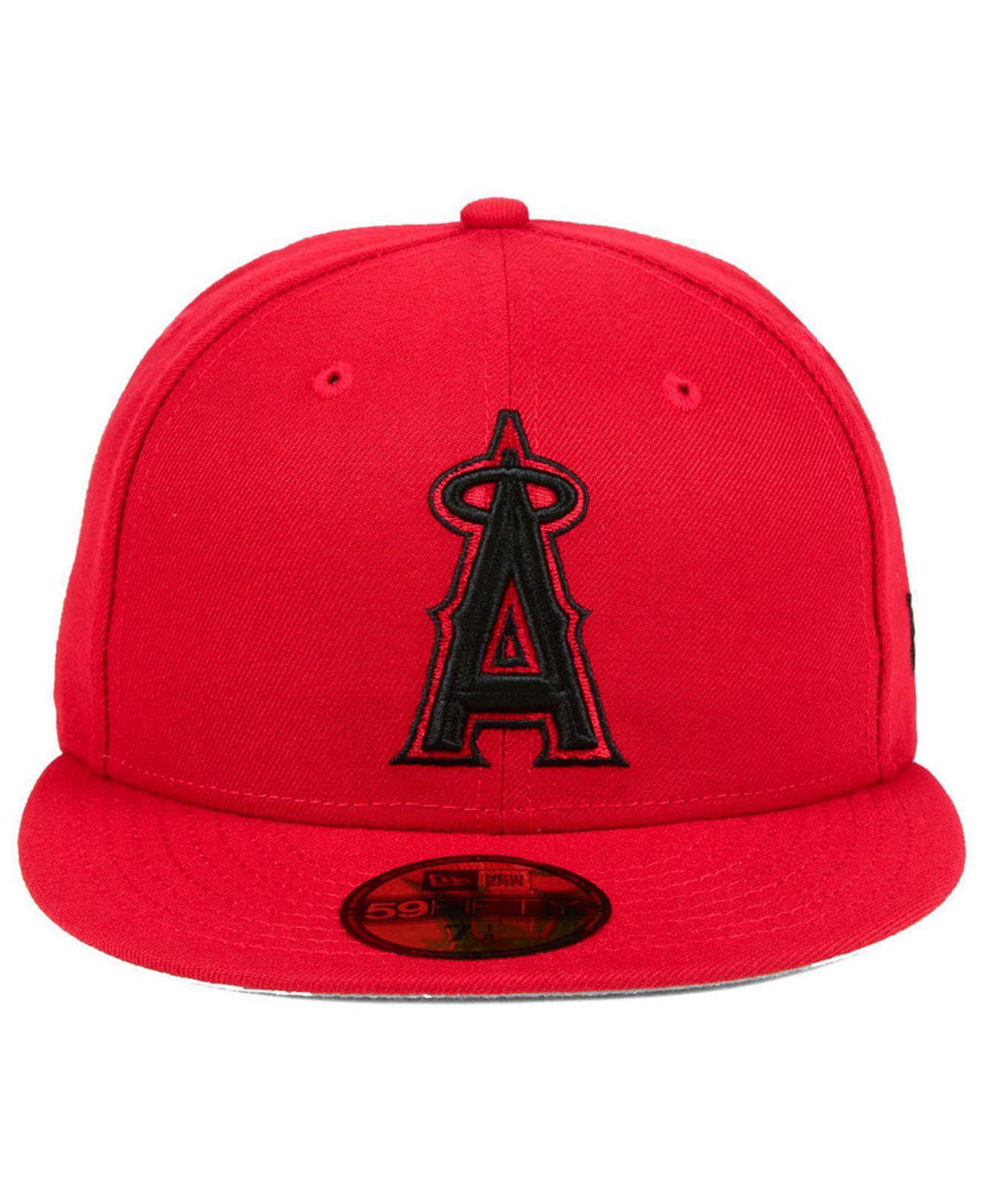 low priced ff5e8 22039 ... where can i buy lyst ktz los angeles angels reverse c dub 59fifty  fitted cap in