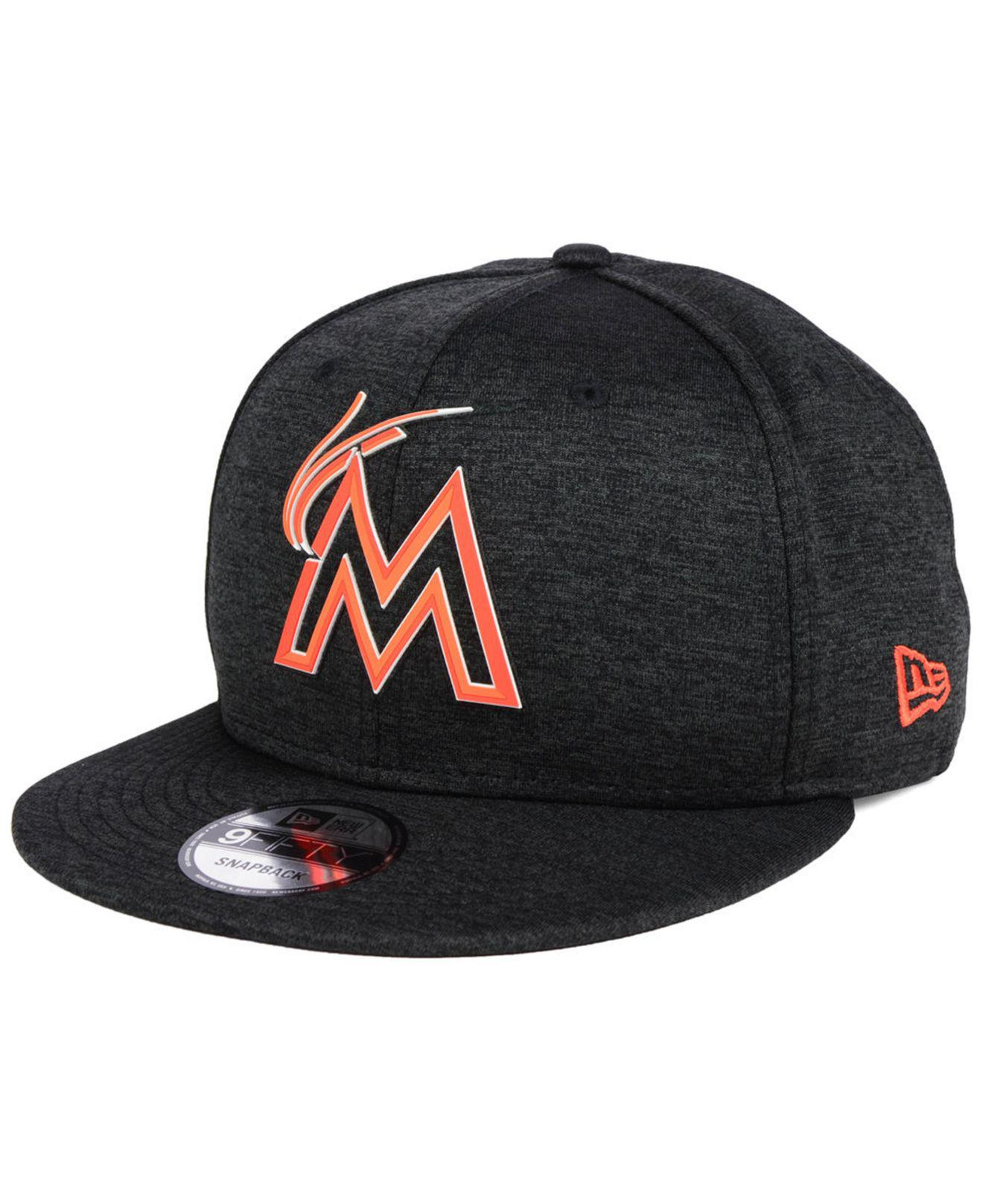 on sale 7b5ed efe20 Lyst - KTZ Miami Marlins Clubhouse Jersey Pop 9fifty Snapback Cap in ...