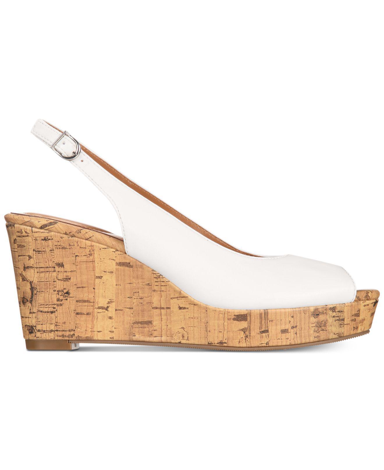 c8cb6fd6328 Lyst - Style   Co. Sondire Platform Wedge Sandals