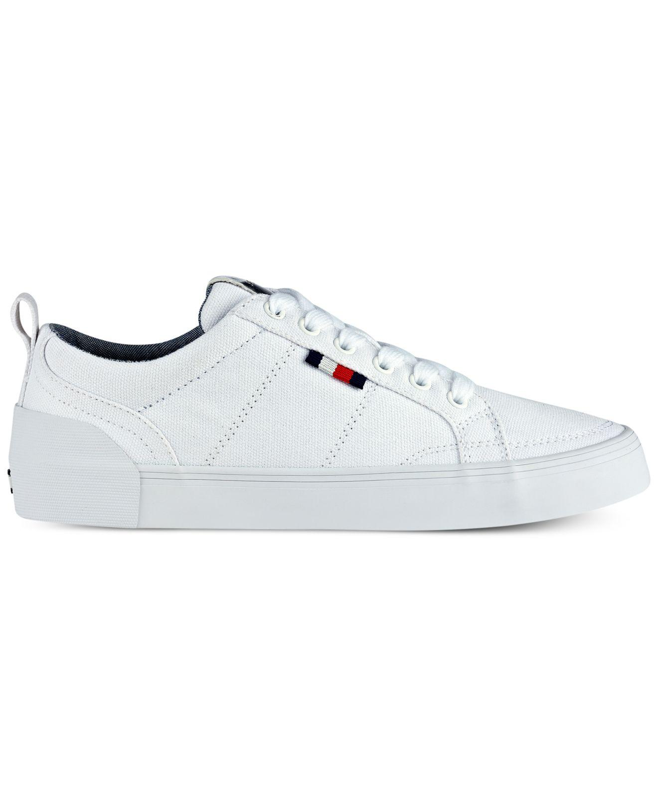 45ebd519bb520 Lyst - Tommy Hilfiger Priss Lace-up Sneakers in White
