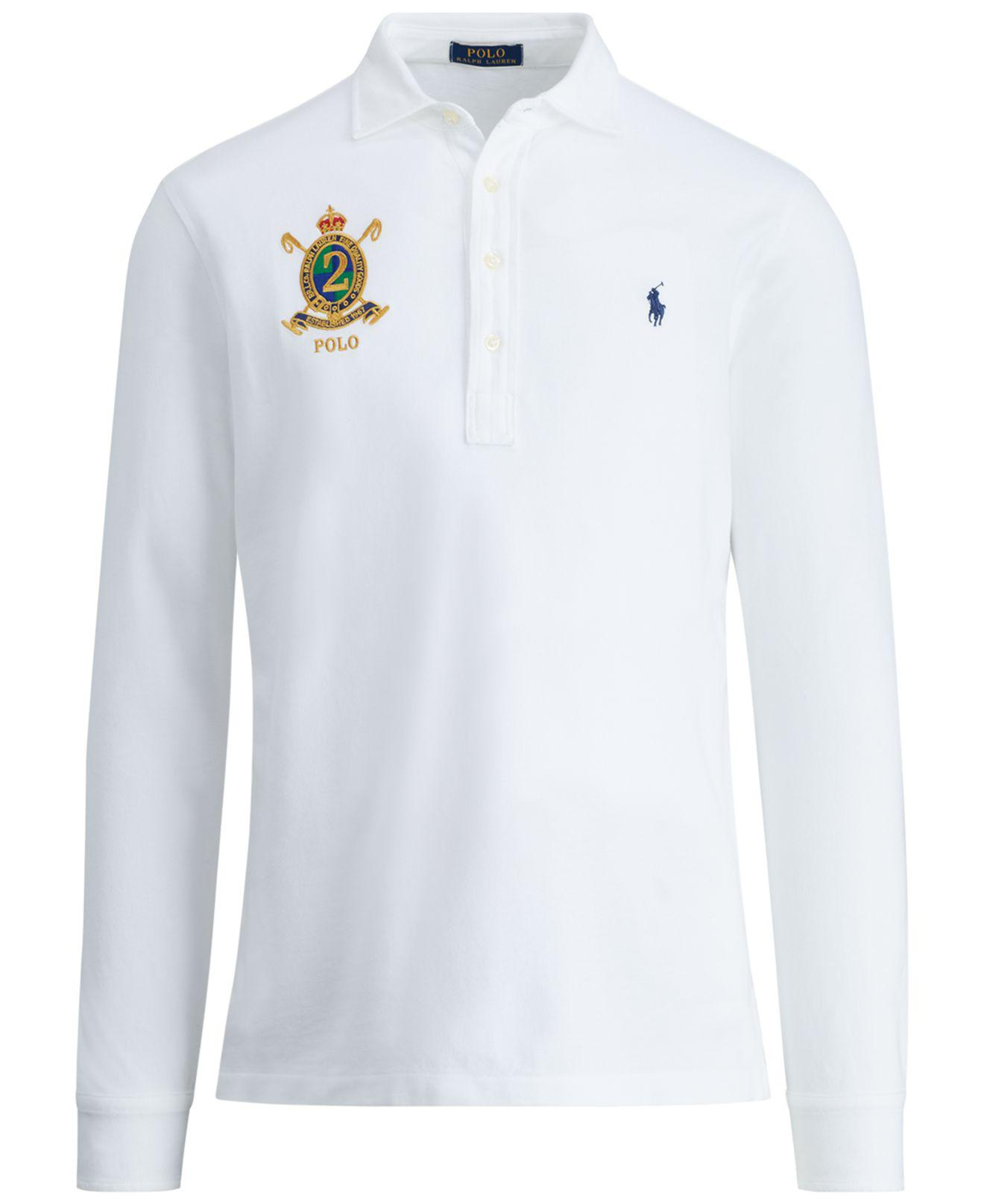 f7e0b21ea1 Polo Ralph Lauren Classic-fit, Featherweight Polo Shirt, Created For ...