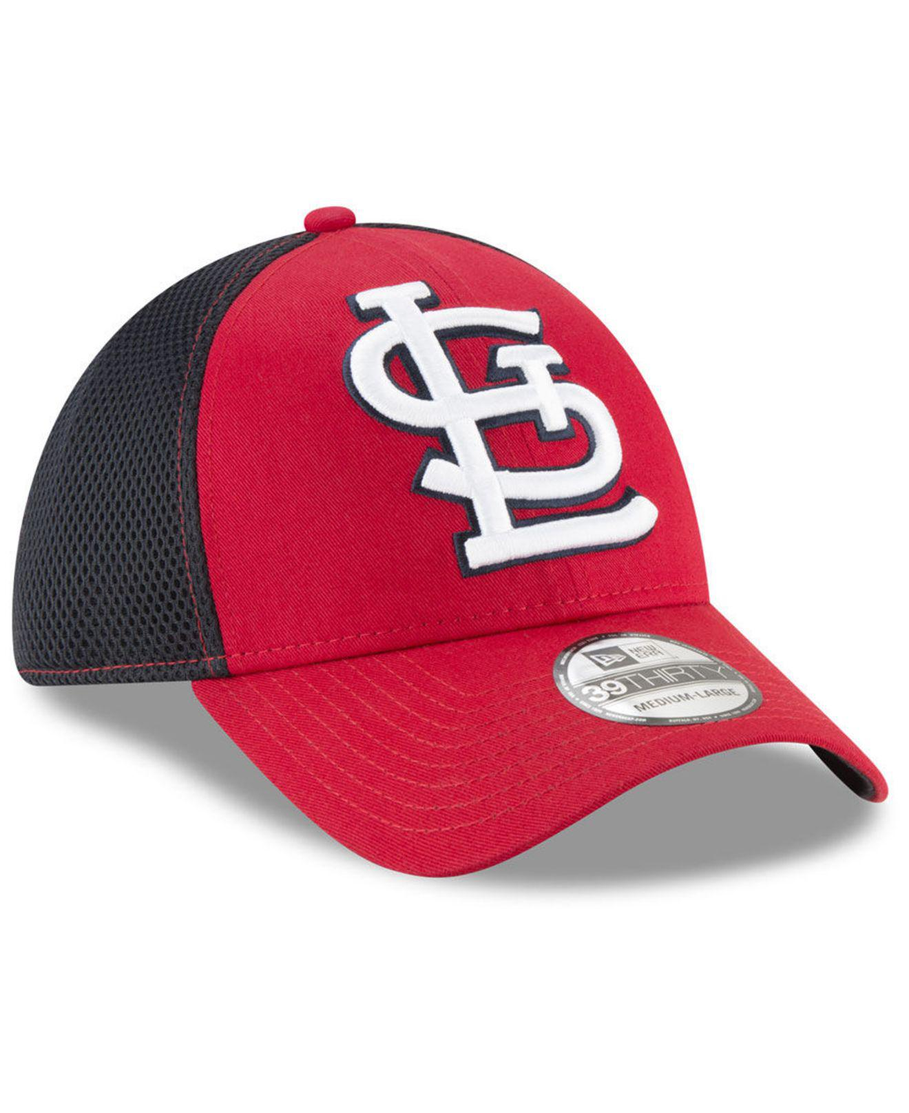 best website 47adb 51457 ... promo code st. louis cardinals mega team neo 39thirty cap for men lyst.  view