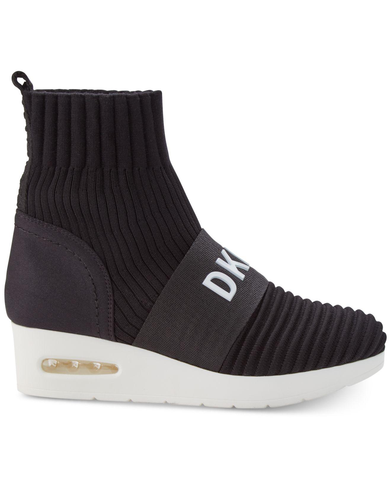 0f579987fac3 Lyst - DKNY Anna Wedge Sneakers