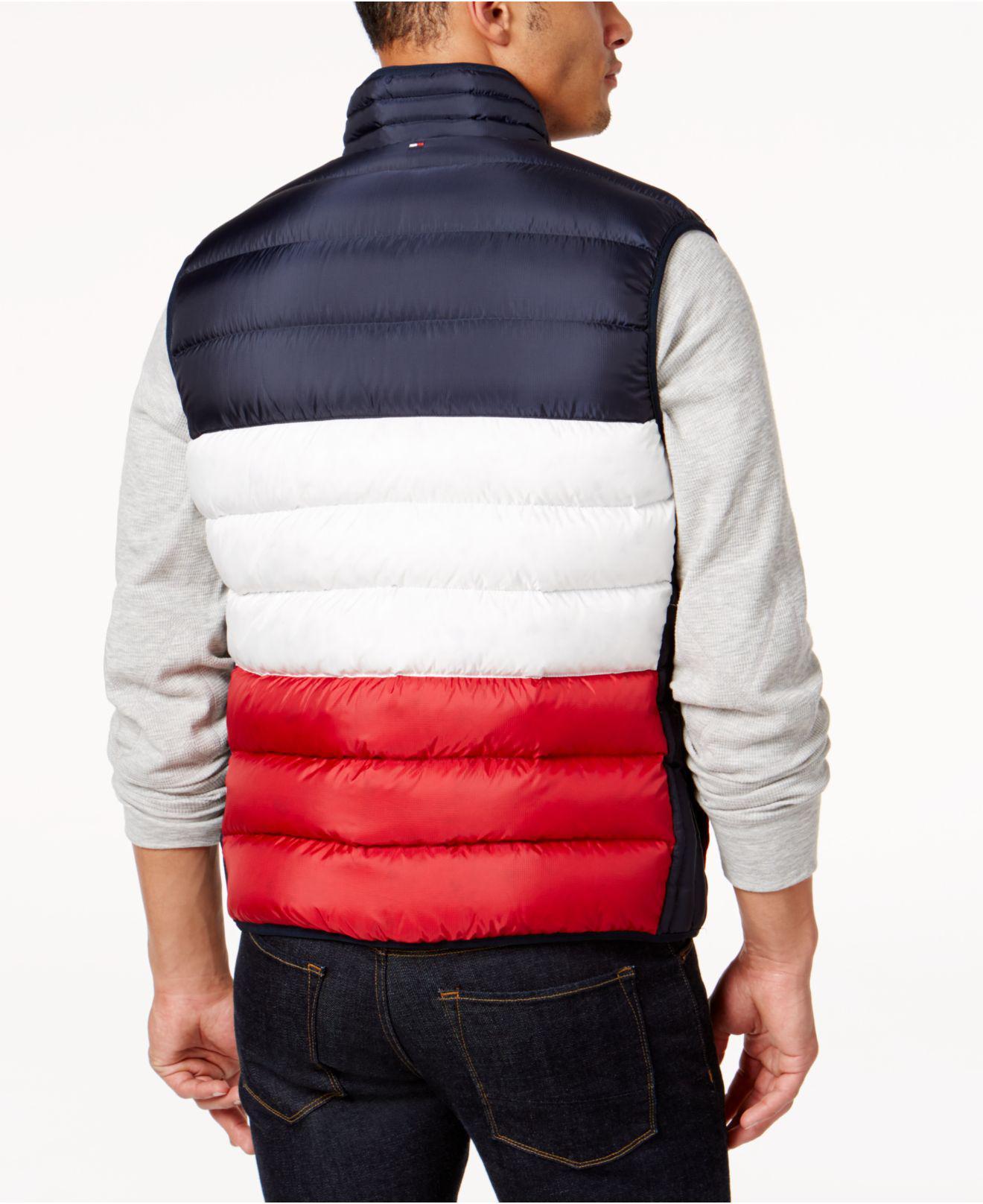 aca68a7476860 Lyst - Tommy Hilfiger Men s Hooper Reversible Vest in Blue for Men