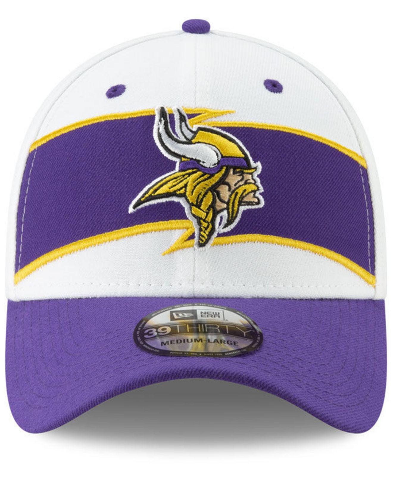 a6835605c2c Lyst - KTZ Minnesota Vikings Thanksgiving 39thirty Cap in Purple for Men