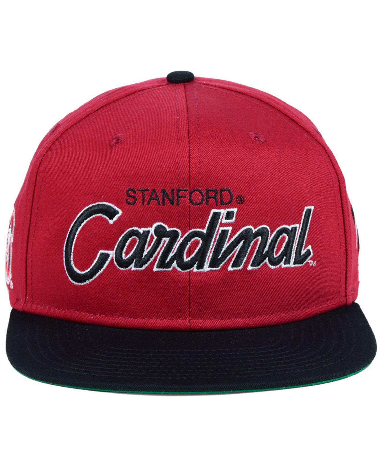 b3da4cb8 good lyst nike stanford cardinal sport specialties snapback cap in red for  men 94cad 89752