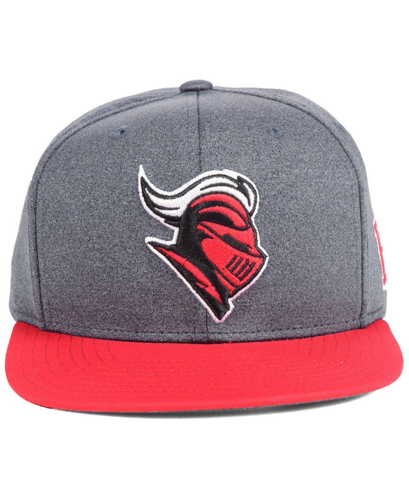new product ef915 7dbda ... usa lyst adidas rutgers scarlet knights stadium performance snapback cap  in gray for men 25f2e 609c4
