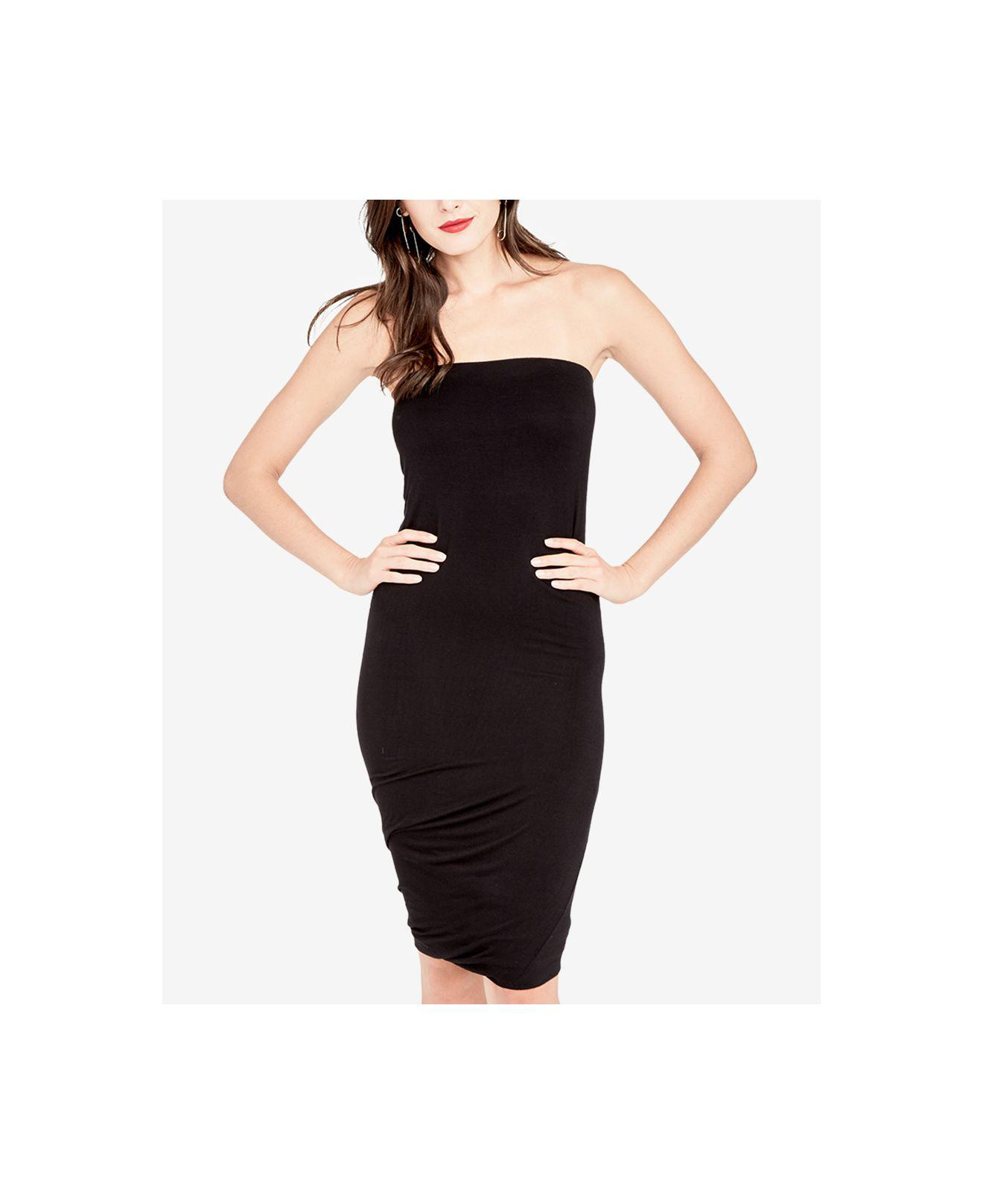 2881dcf3f279 RACHEL Rachel Roy Twisted Tube Dress, Created For Macy's in Black - Lyst