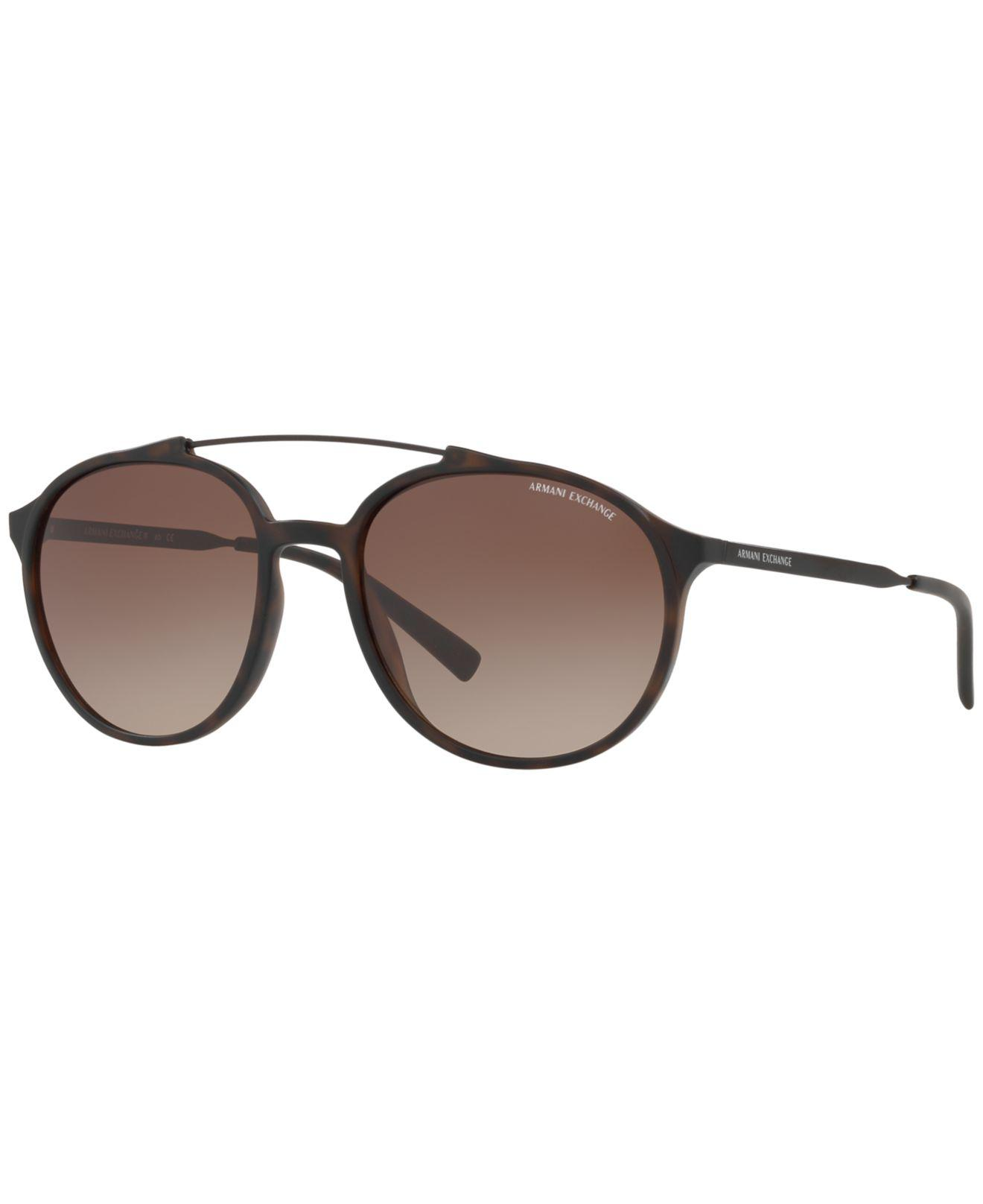 dbee7c911e8 Armani Exchange - Brown Exchange Sunglasses