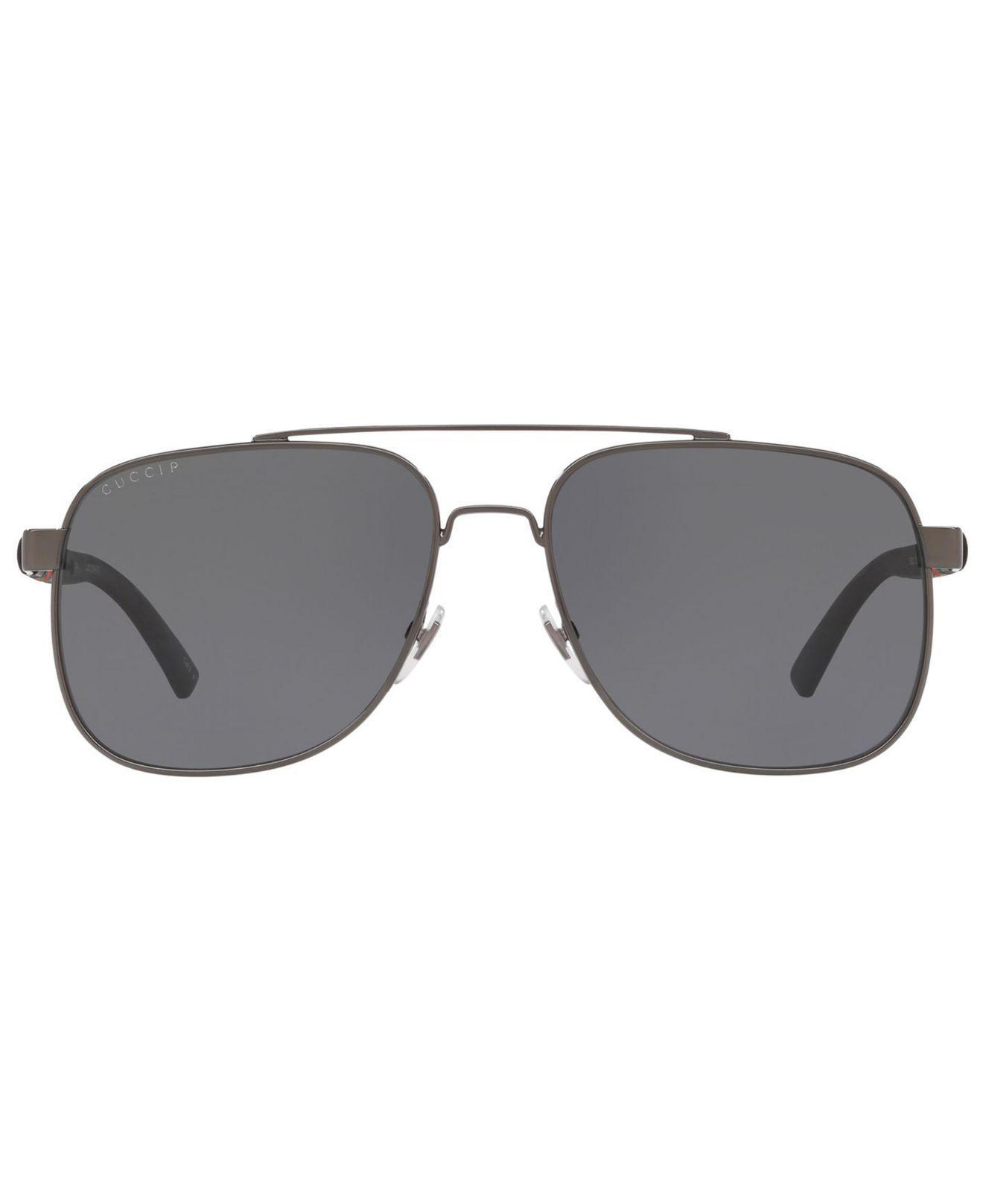 cff08a32a80 Lyst - Gucci Polarized Sunglasses