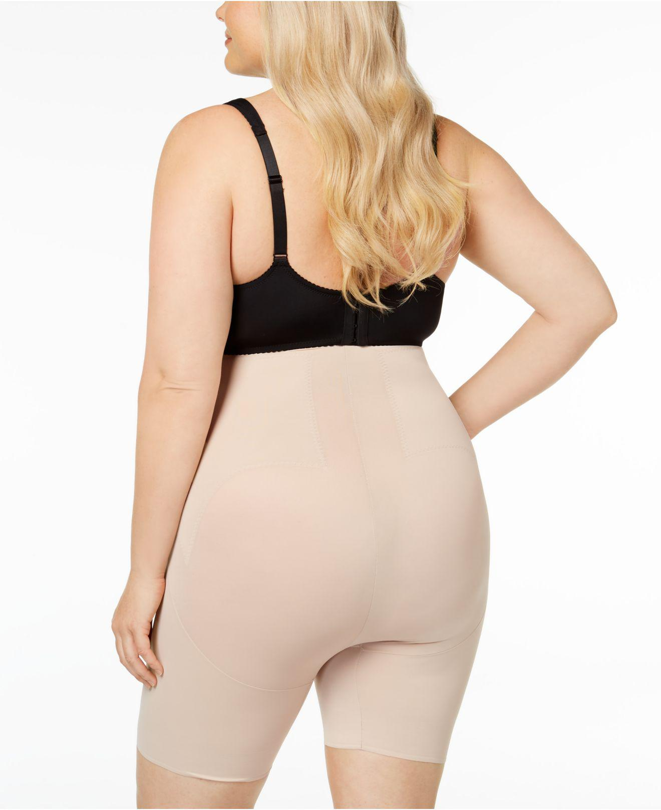 6850f8545 Lyst - Miraclesuit Extra Firm Control Flex Fit High-waist Thighslimmer 2909  in Black