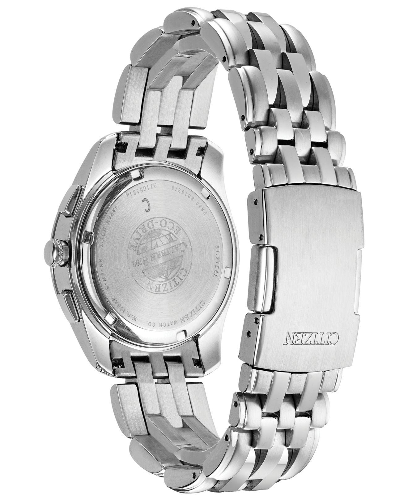 Lyst - Citizen Eco-drive Stainless Steel Bracelet Watch 39mm Bl8000-54l,  Created For Macy's - A Limited Edition in Gray for Men