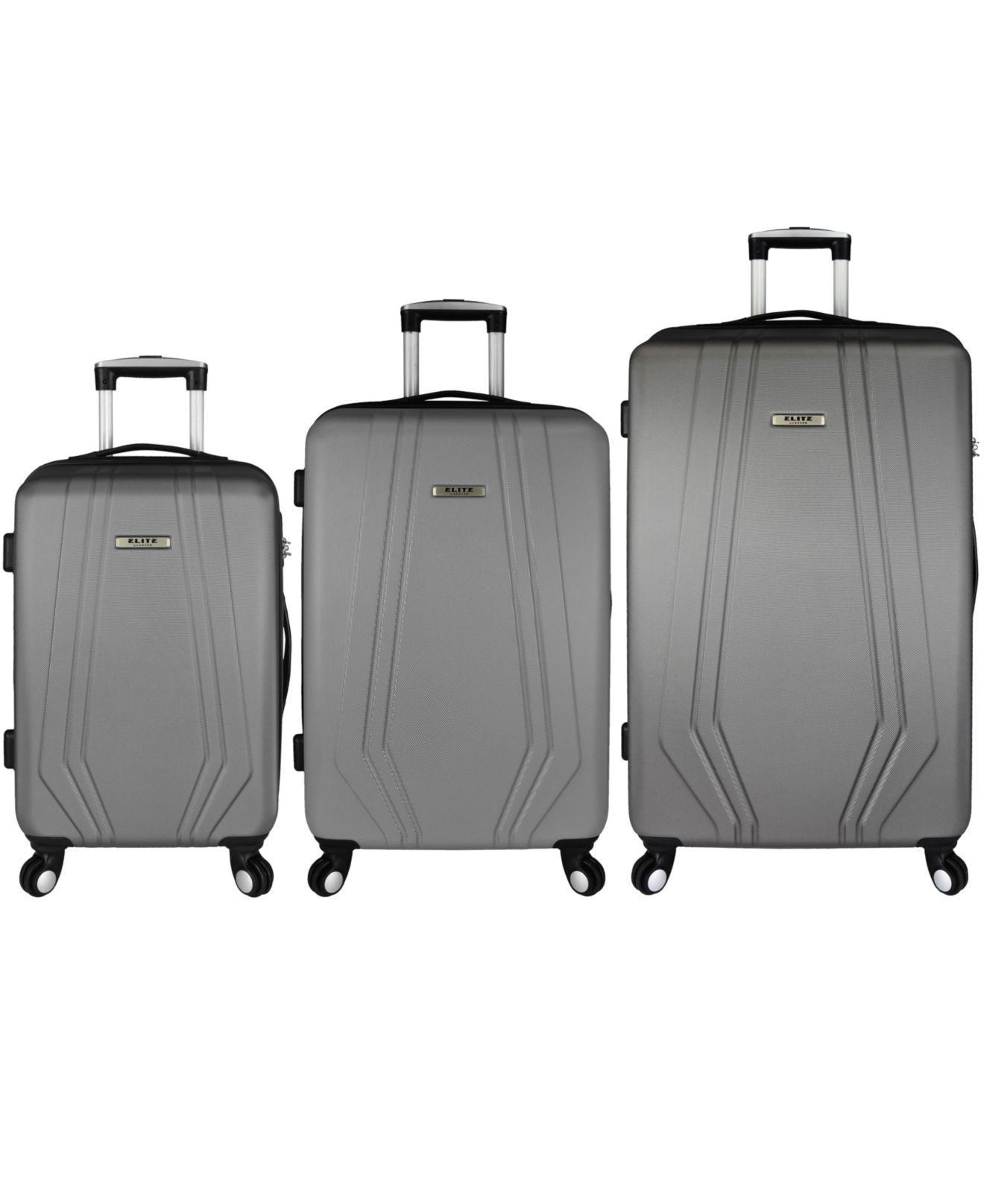9bae8a8c3 Lyst - Elite Luggage Paris 3-piece Hardside Spinner Luggage Set in ...