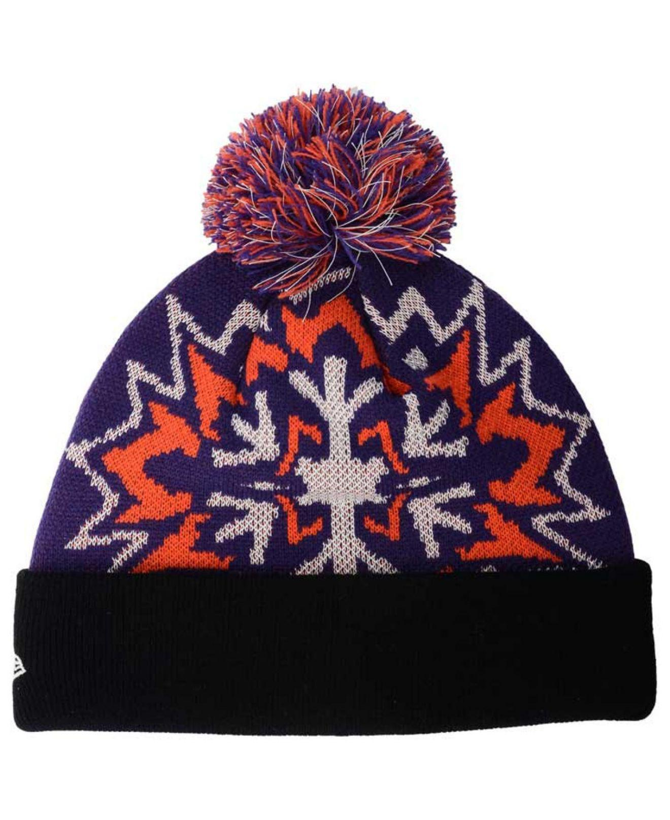 6795f18a630a6 Lyst - Ktz Phoenix Suns Glowflake Knit Hat in Purple for Men
