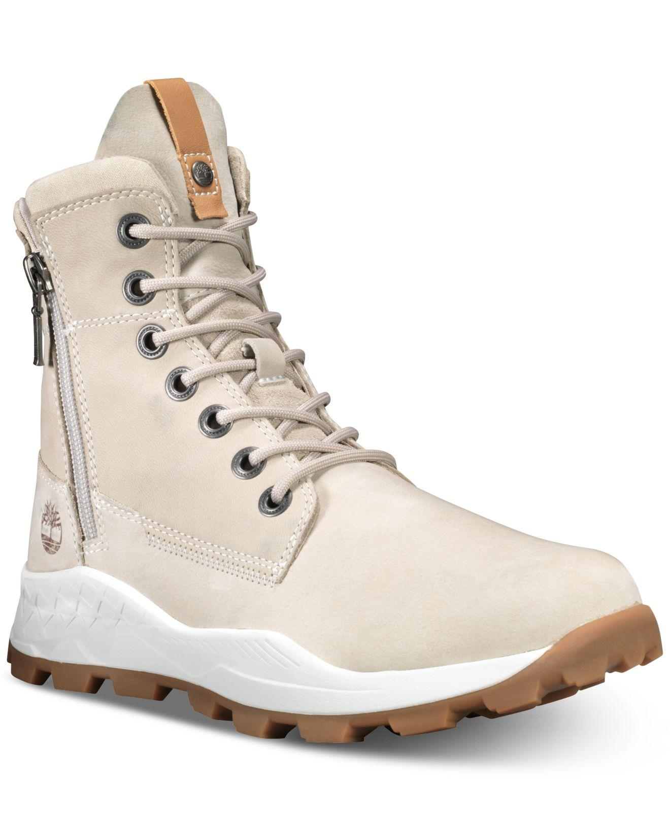 82ed5a409e8e Lyst - Timberland Brooklyn Side-zip Boots in Natural for Men - Save 1%