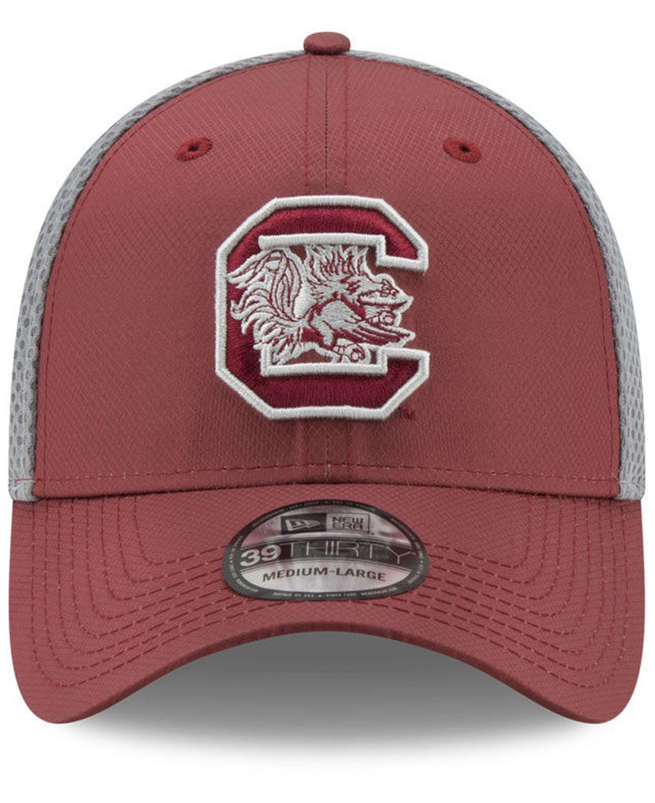newest 26222 ea90c Lyst - KTZ South Carolina Gamecocks Tc Gray Neo 39thirty Cap for Men