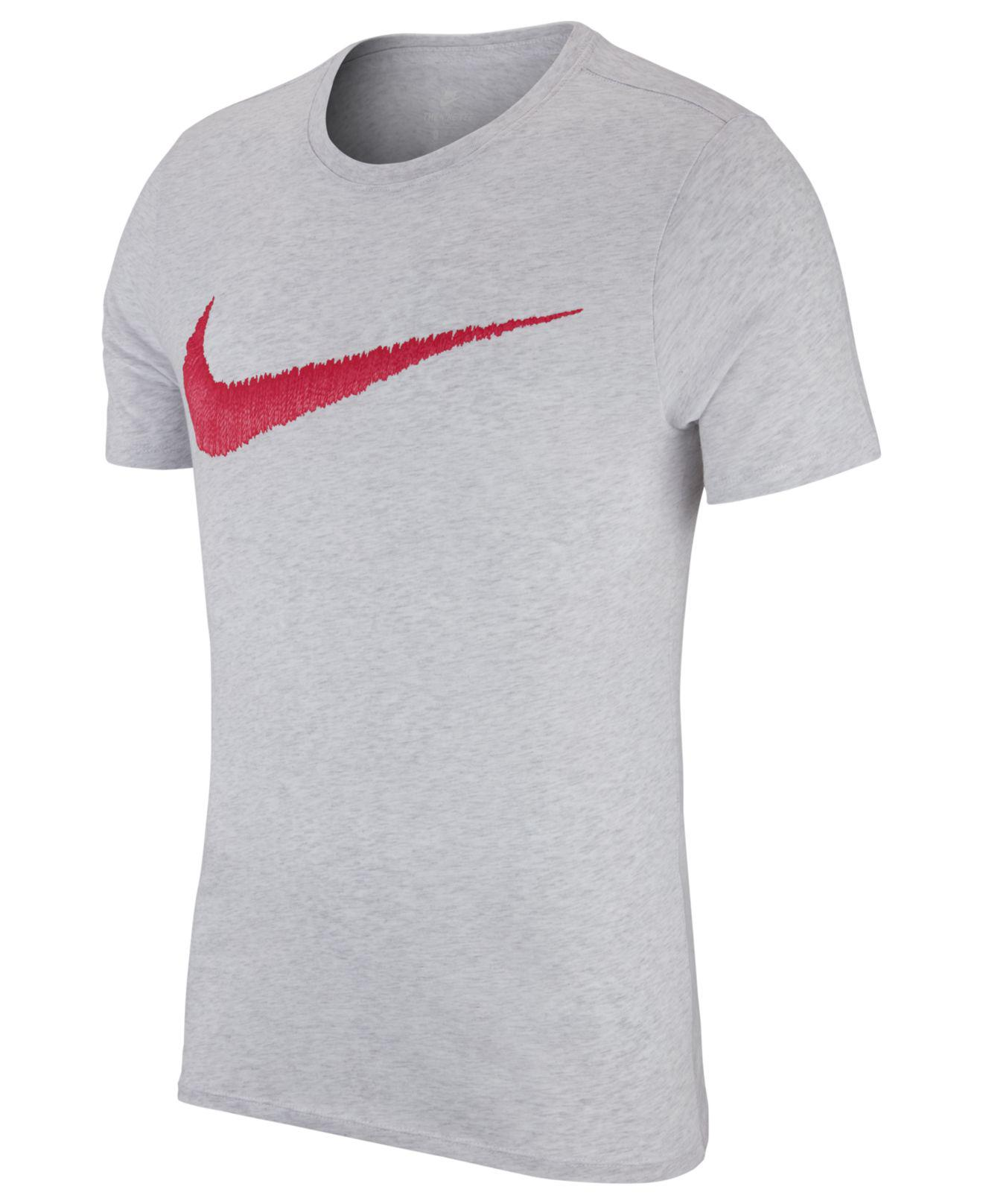 d6300f6d9504 Lyst - Nike Hangtag Swoosh T-shirt in Gray for Men