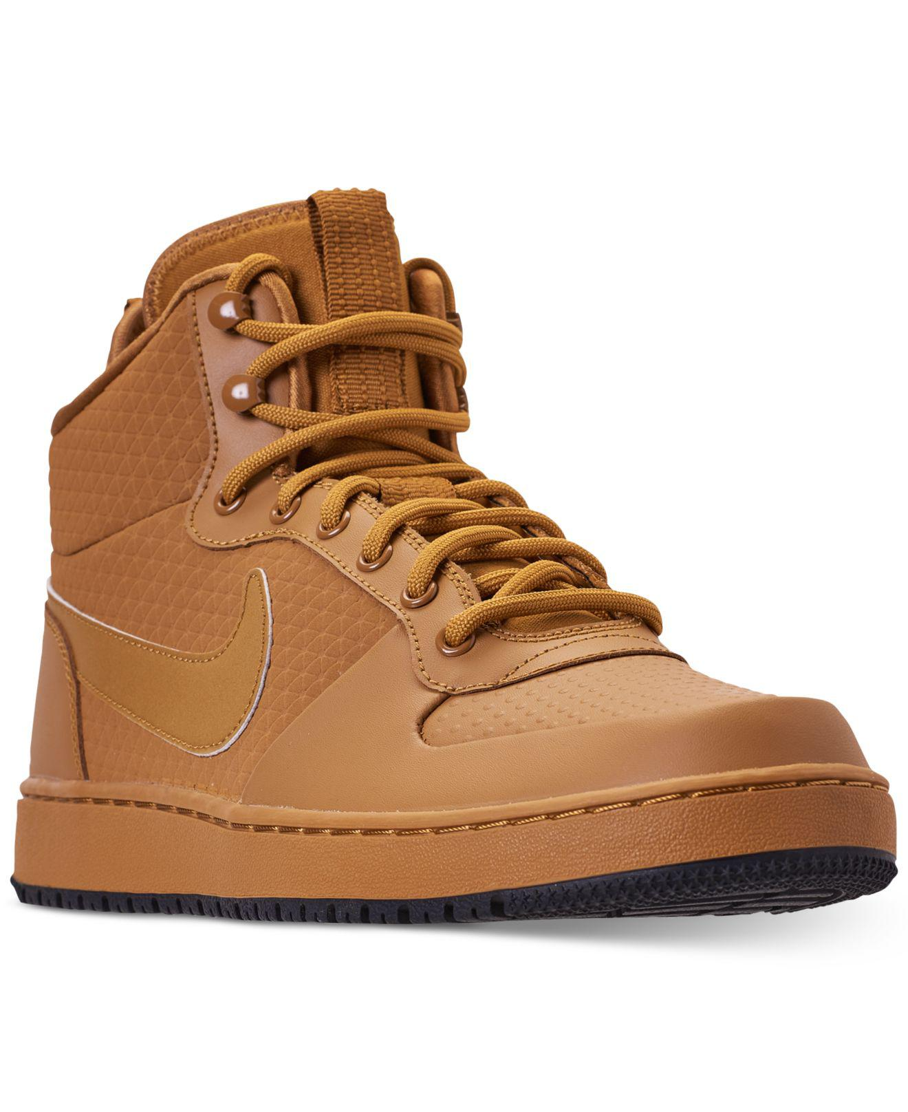 Lyst - Nike Ebernon Mid Winter Casual Sneakers From Finish Line in ... 398e727ae