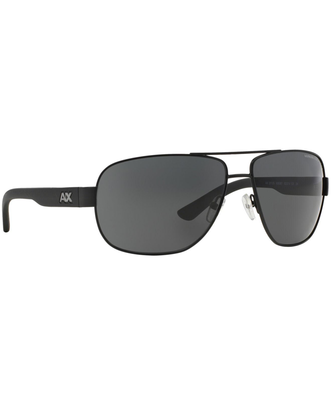 68d81f848 Armani Exchange - Black Ax Ax2012s 62 for Men - Lyst. View fullscreen