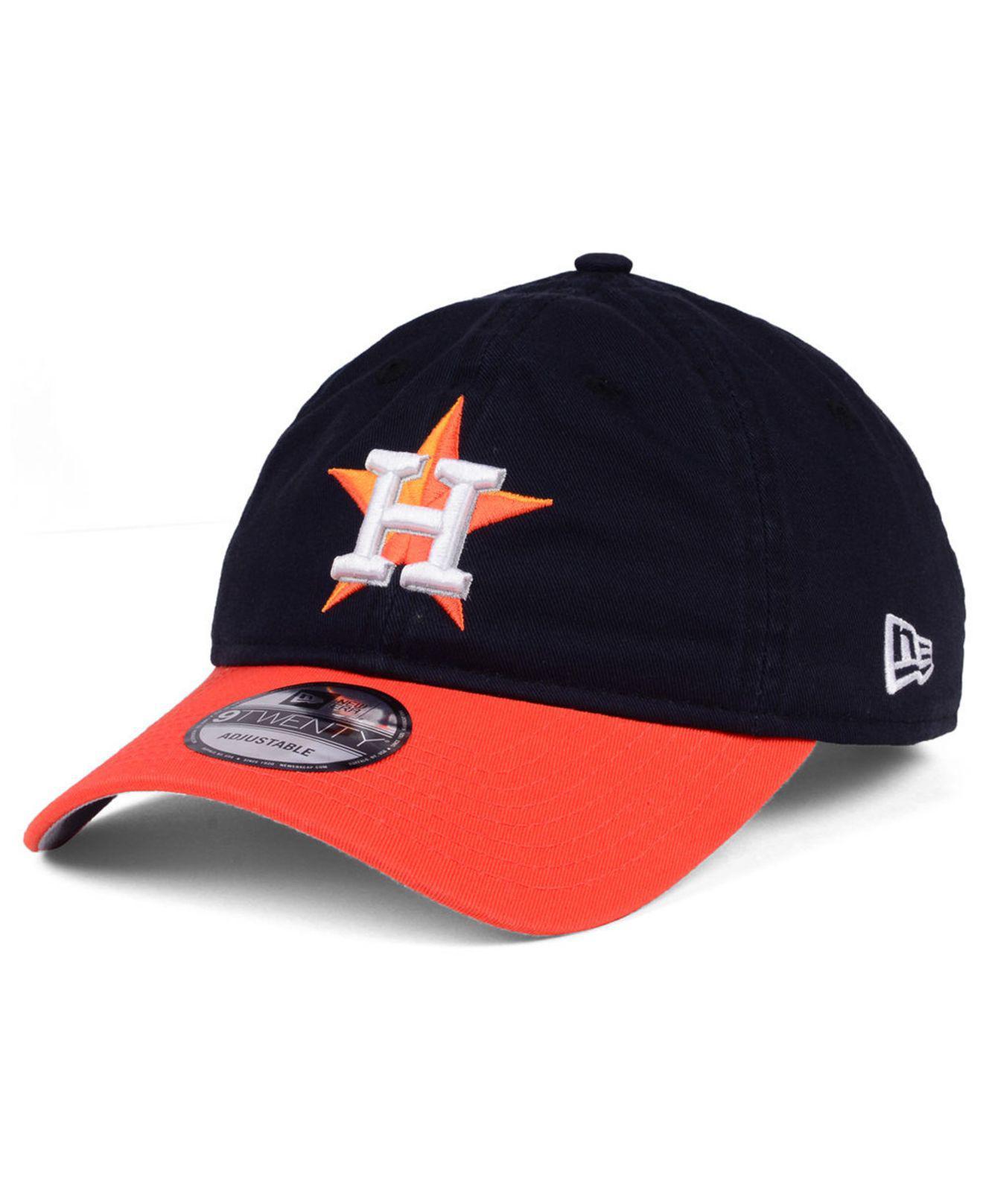 new styles b81ed eb497 KTZ. Men s Blue Houston Astros On-field Replica 9twenty Cap