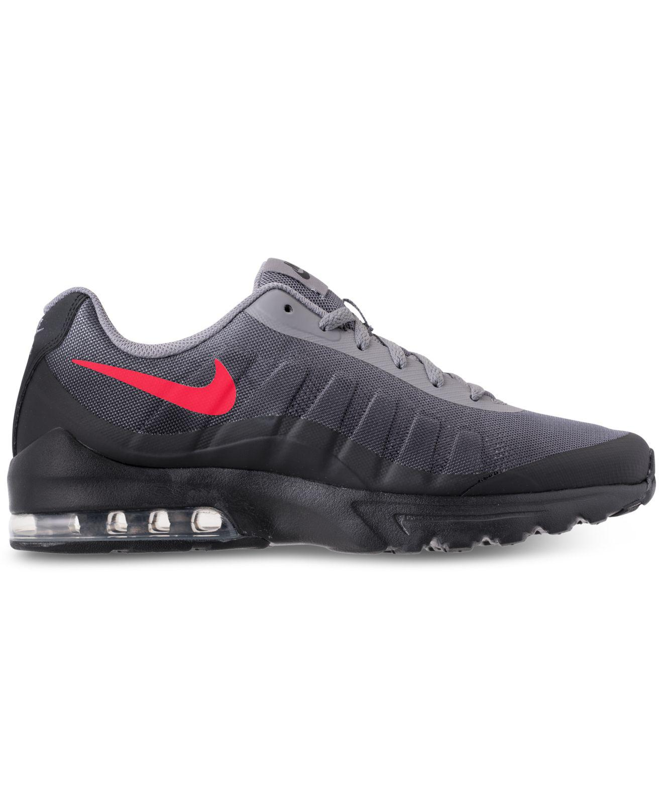 38b7fc70509c Lyst - Nike Air Max Invigor Print Running Sneakers From Finish Line in Black  for Men